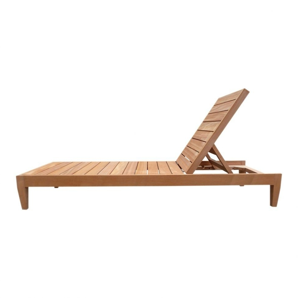Most Recent Wood Chaise Lounge Outdoor Furniture Outdoor Wood Lounge Chair In Wood Chaise Lounge Chairs (View 9 of 15)