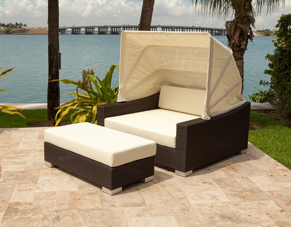 Most Recently Released 10 Outdoor Daybeds You'll Want To Use Indoors Intended For Outdoor Sofas With Canopy (View 2 of 15)