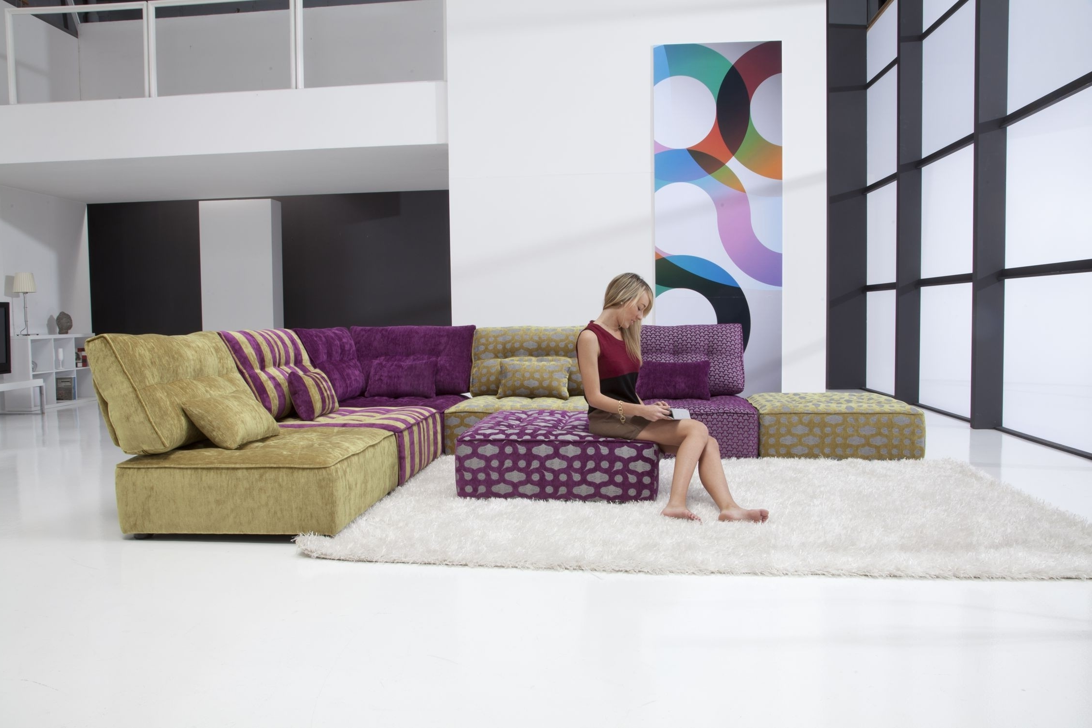 Most Recently Released Arianne Modern Modular Sectional Sofa (View 12 of 15)