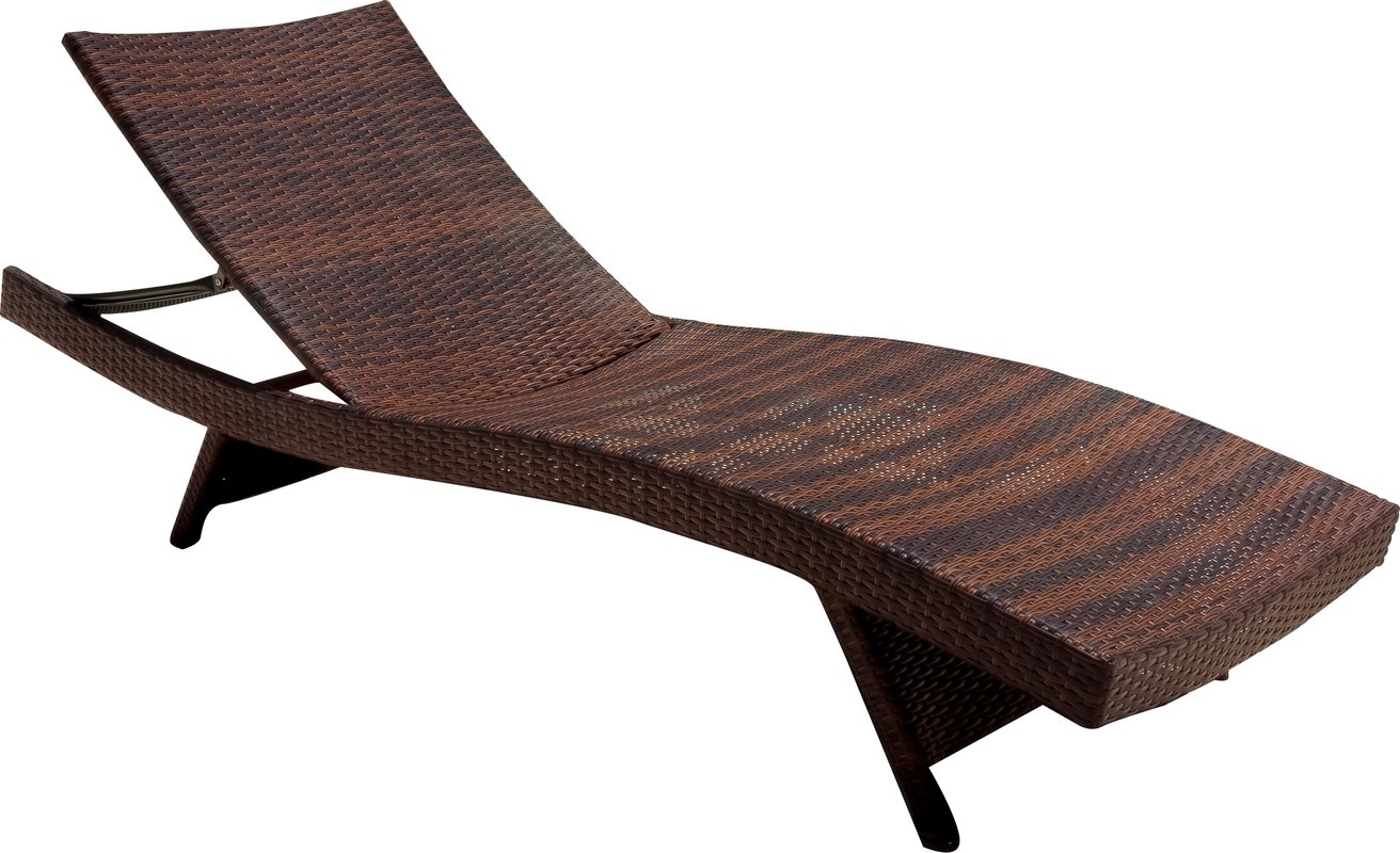Most Recently Released Athanasius Reclining Adjustable Chaise Lounge & Reviews (View 4 of 15)
