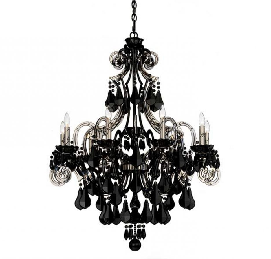 Most Recently Released Black Chandelier Wall Lights Inside Chandelier And Matching Wall Lights # (View 5 of 15)