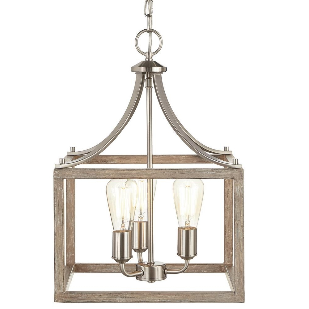 Most Recently Released Cage – Chandeliers – Lighting – The Home Depot Inside Cage Chandeliers (View 9 of 15)