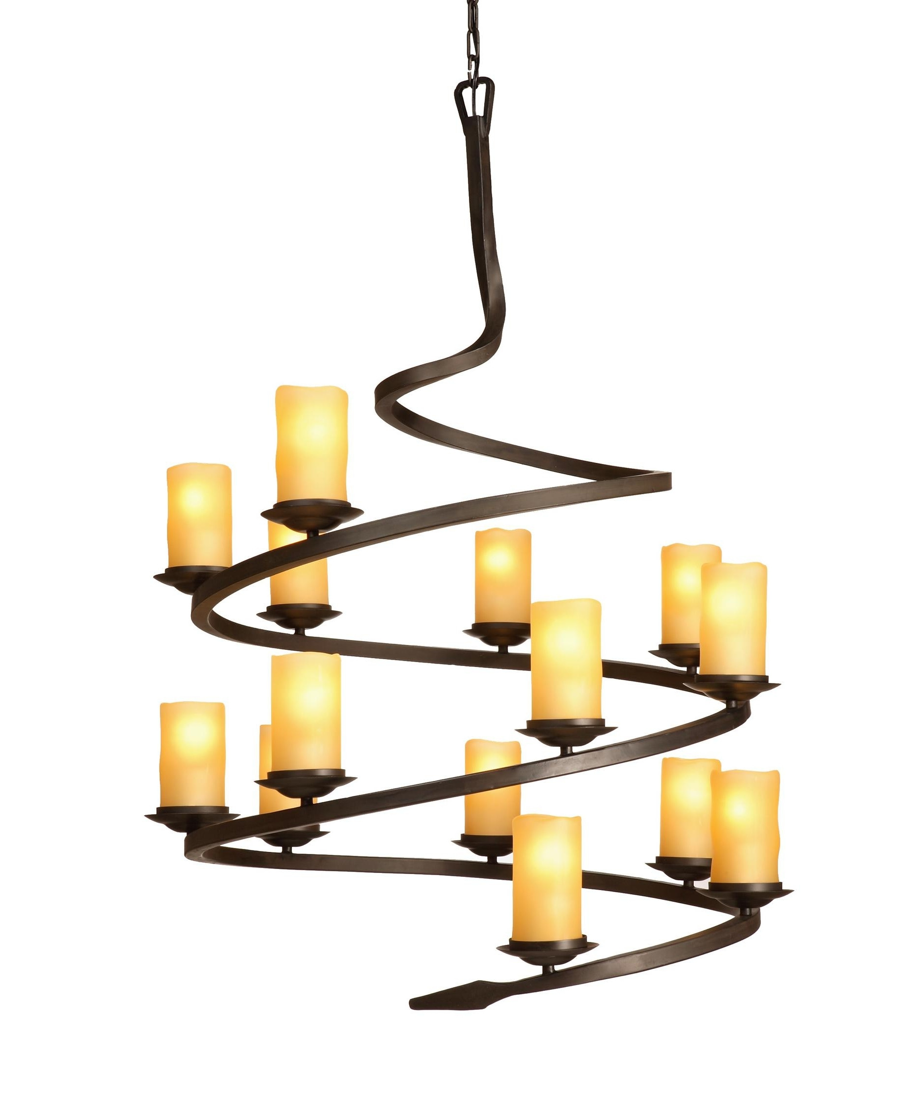 Most Recently Released Candle Light Chandelier For Artcraft Ac1711 Candlelight 37 Inch Wide 14 Light Chandelier (View 1 of 15)