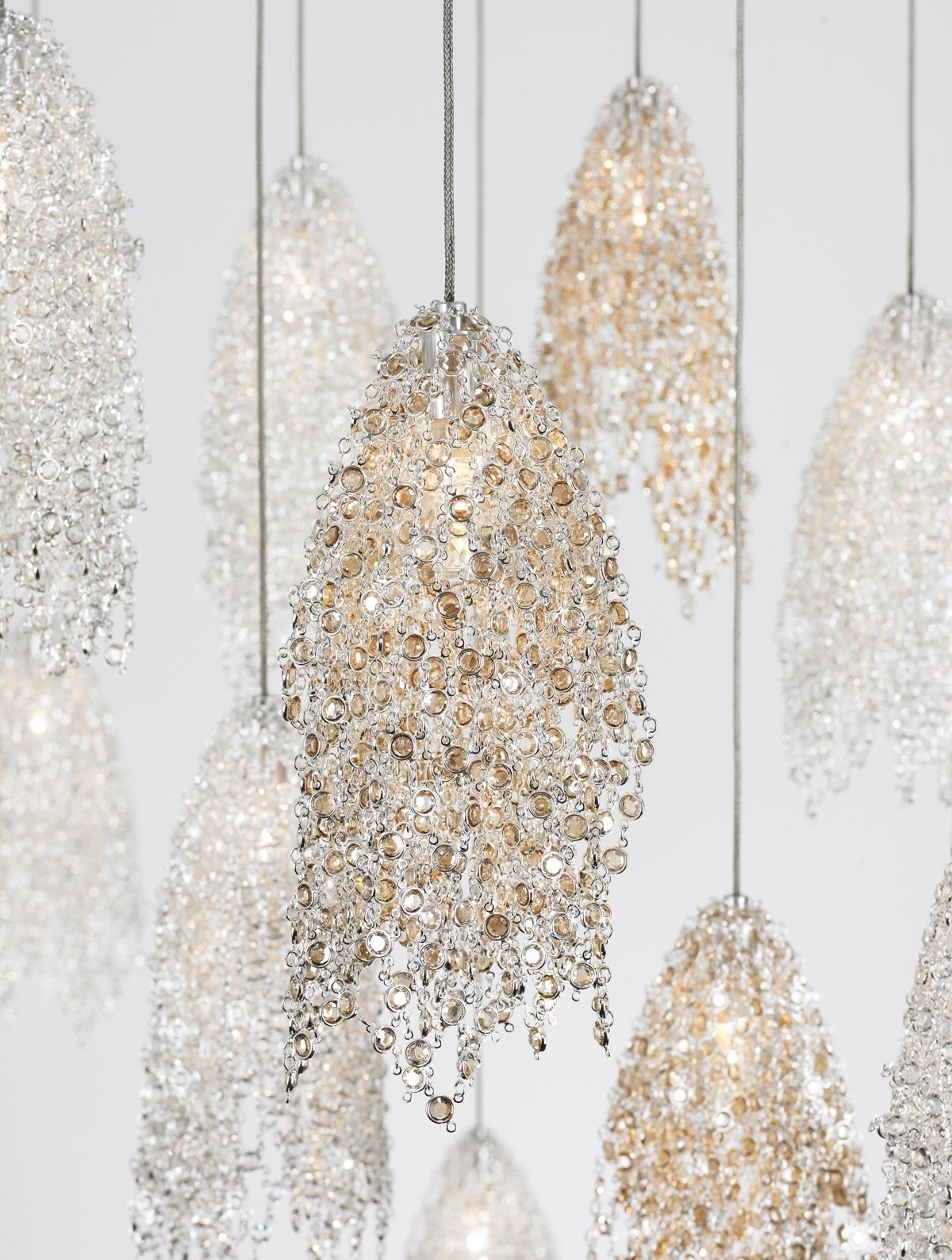 Most Recently Released Chandelier Bathroom Ceiling Lights With Regard To Love These! I'm Using 5 Of Them Over My Dining Room Table! (View 12 of 15)