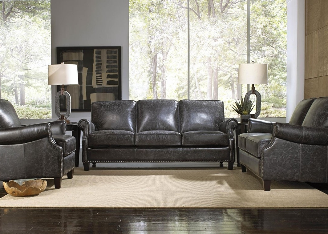 Most Recently Released Charcoal Grey Sofas Inside Best Charcoal Grey Leather Sofa 13 About Remodel Sofas And Couches (View 8 of 15)