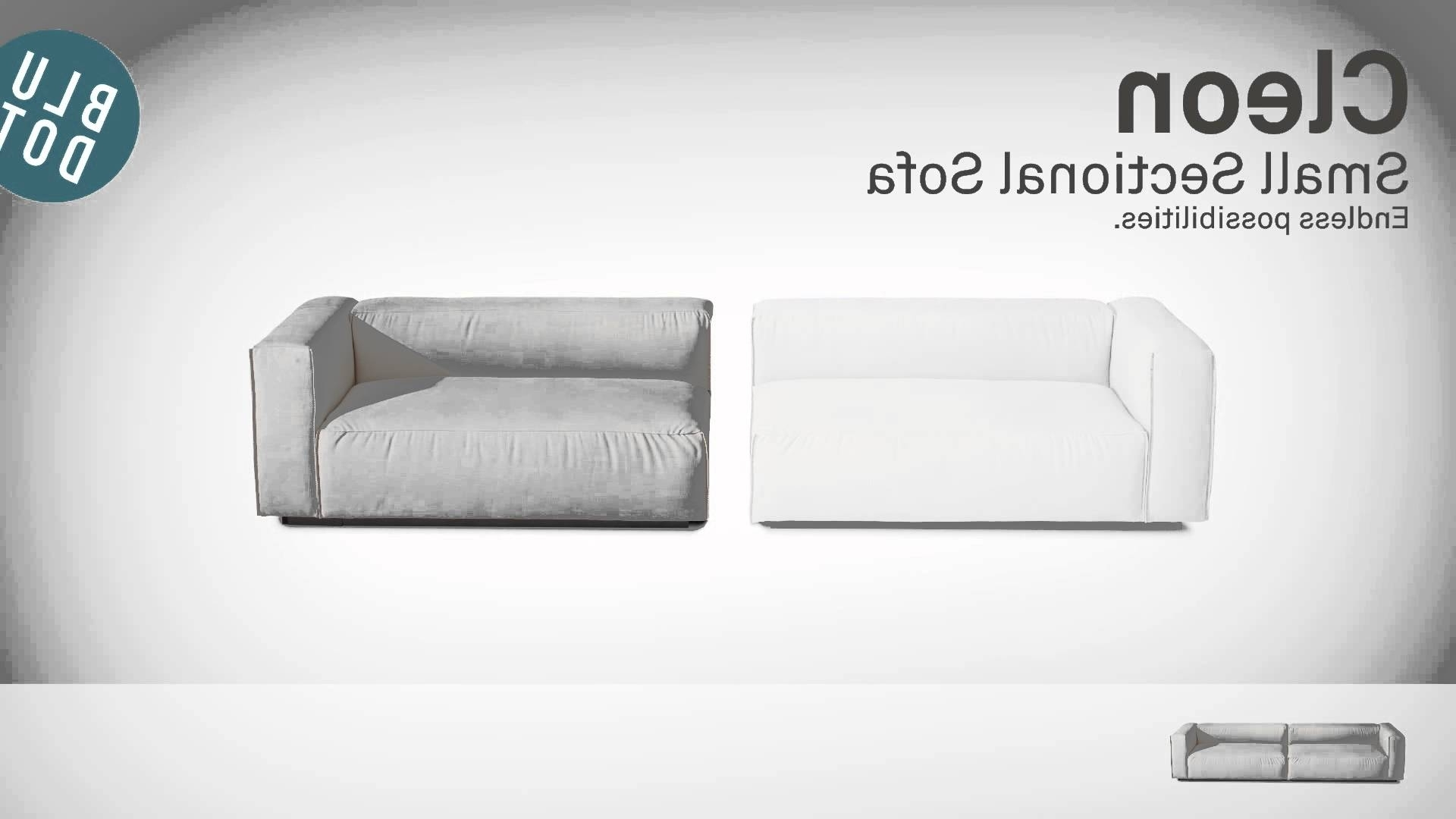 Most Recently Released Cleon Small Sectional Sofablu Dot – Youtube For Johnny Janosik Sectional Sofas (View 14 of 15)