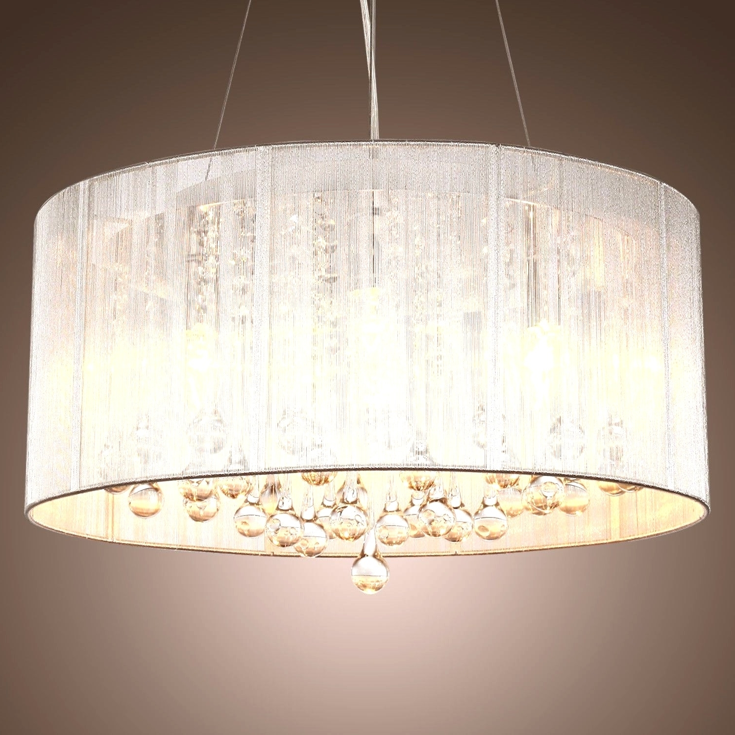 Most Recently Released Clip On Chandeliers Pertaining To Chandeliers Design : Magnificent Best Clip On Drum Chandelier Shades (View 15 of 15)