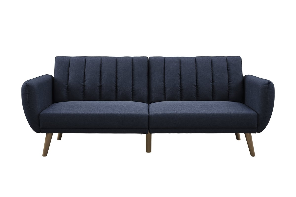 Most Recently Released Convertible Sofas Pertaining To Novogratz Brittany Convertible Sofa & Reviews (View 10 of 15)