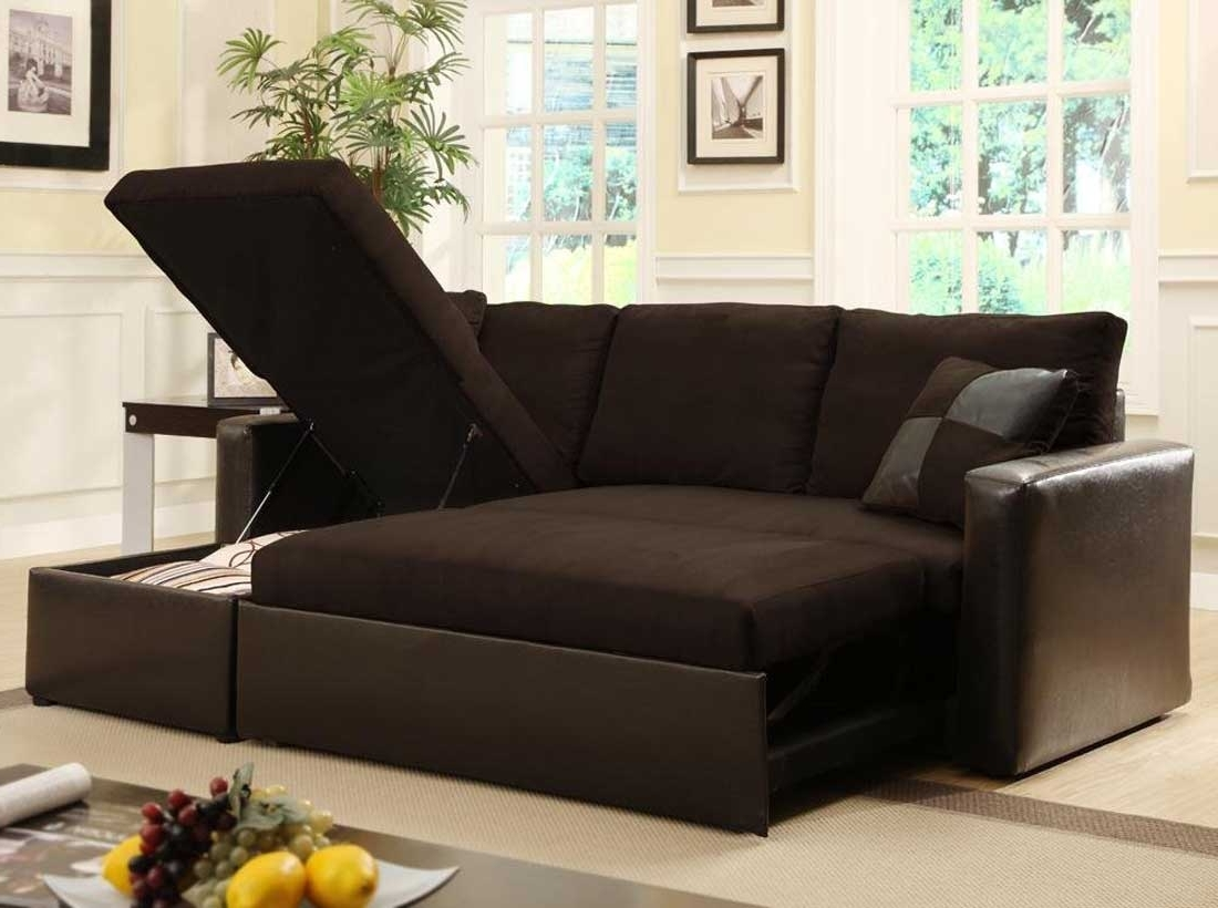 Most Recently Released Cool Great Black Sectional Sleeper Sofa 98 For Small Home Decor Inside Sectional Sofas That Turn Into Beds (View 9 of 15)