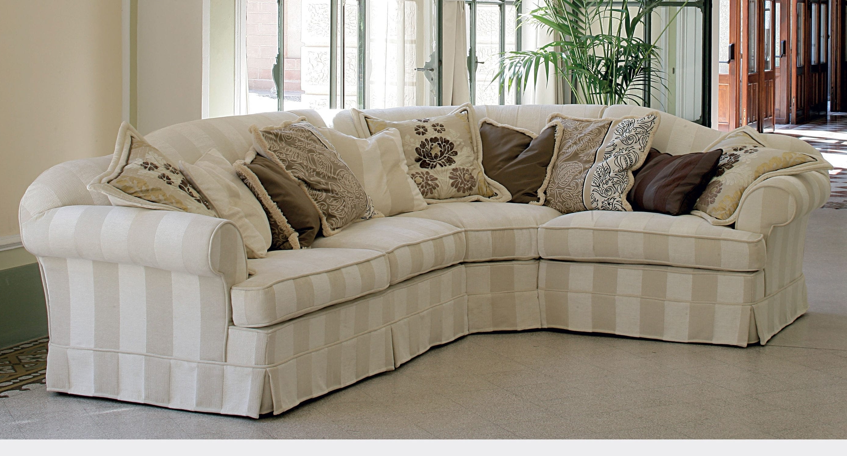 Most Recently Released Corner Sofa / Contemporary / Fabric / With Removable Cover Within Sofas With Removable Covers (View 6 of 15)