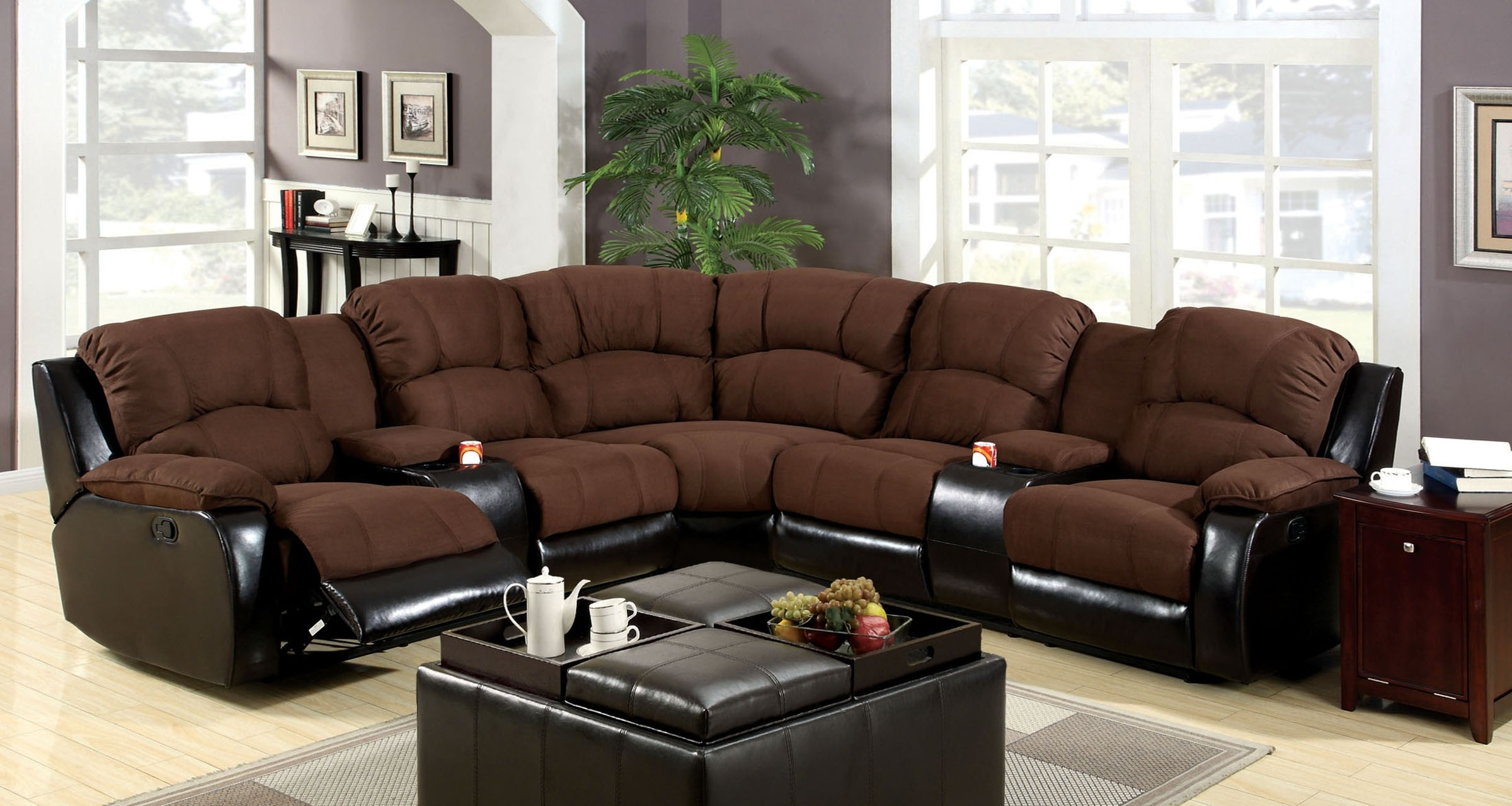 Most Recently Released Couch With Cup Holders In Arms Reclining Sectional Sofas For Small Regarding Sectional Sofas With Cup Holders (View 1 of 15)