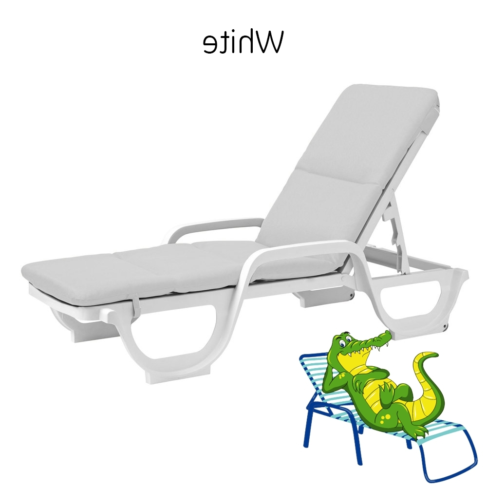 Most Recently Released Cushion For Grosfillex Chaise Lounge Chair – Cushion Only Pertaining To Grosfillex Chaise Lounge Chairs (View 15 of 15)