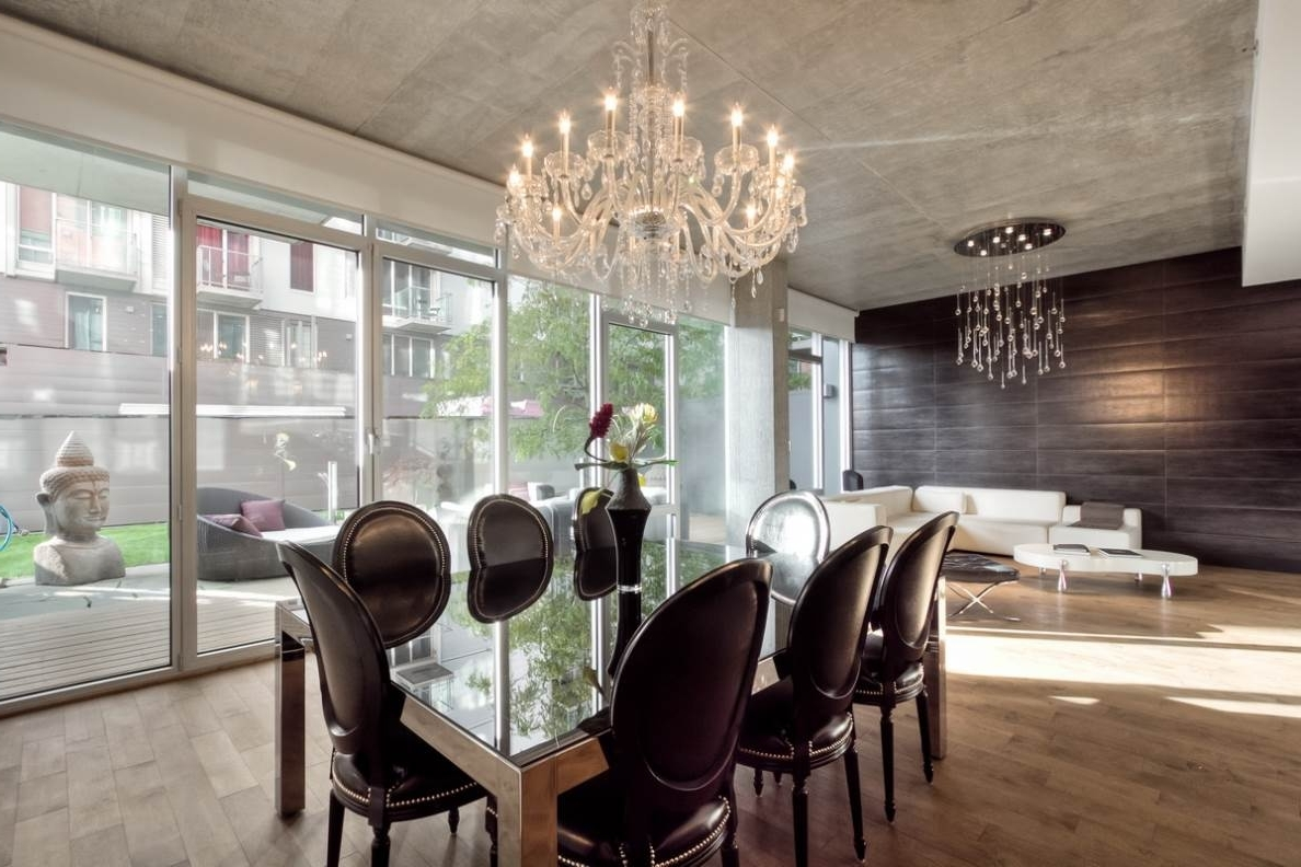 Most Recently Released Dining Room Crystal Chandelier Chandeliers Dining Room And Modern Intended For Cream Crystal Chandelier (View 11 of 15)