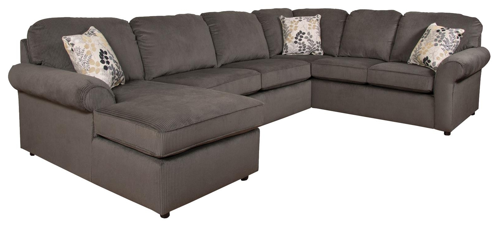 Most Recently Released England Sectional Sofas With England Malibu 5 6 Seat (Right Side) Chaise Sectional Sofa (View 13 of 15)