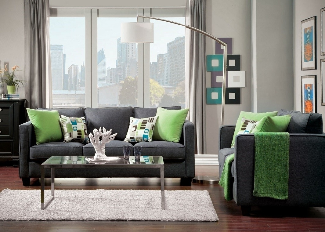 Most Recently Released Fabric Sofas With Regard To Gray Fabric Sofa (View 11 of 15)