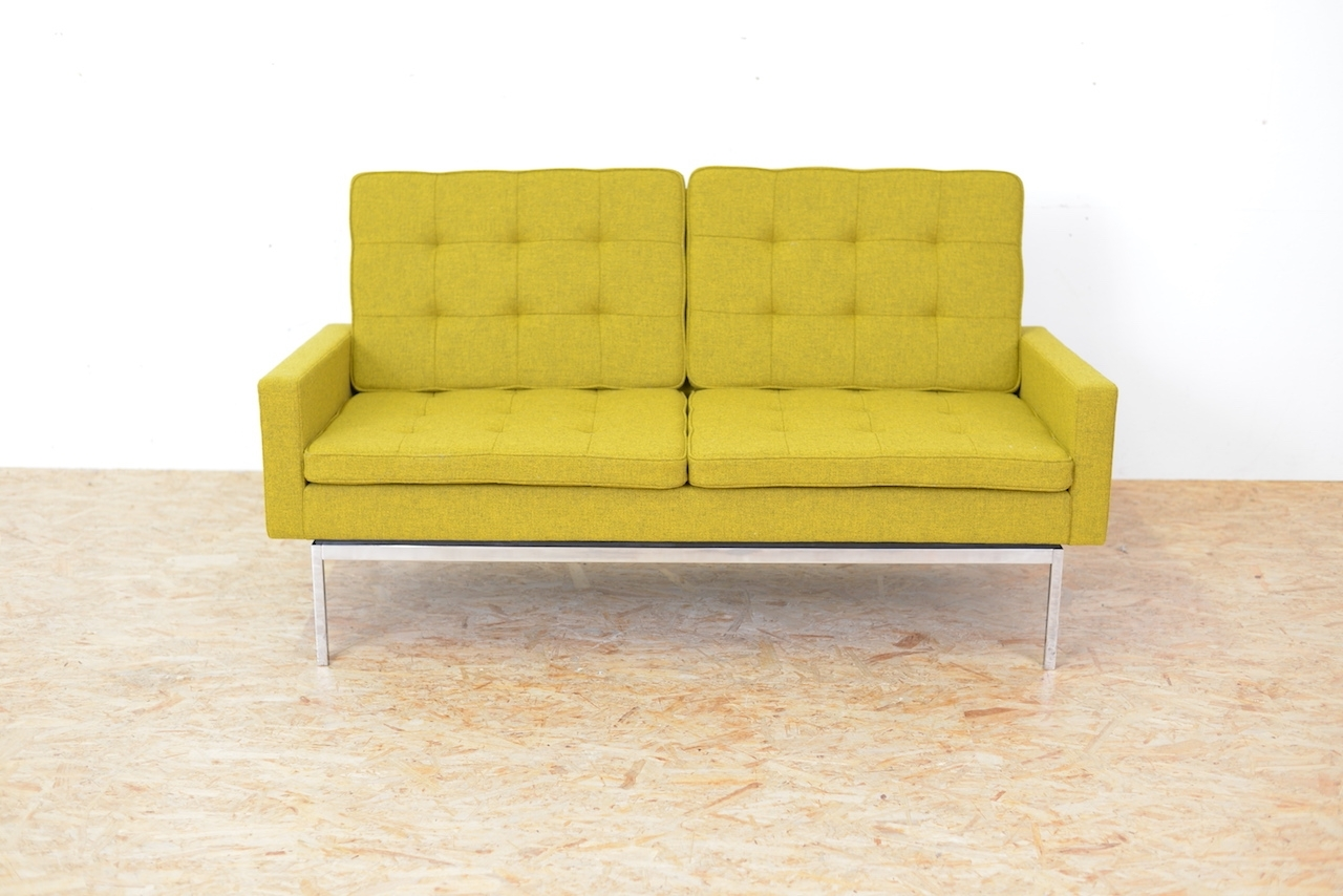 Most Recently Released Florence Knoll Fabric Sofas Inside Model 66A Fabric Sofaflorence Knoll Bassett, 1958 For Sale At (View 10 of 15)
