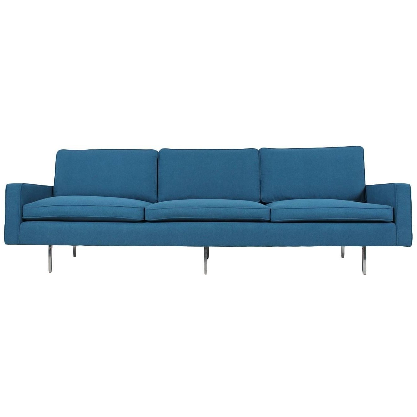 Most Recently Released Florence Knoll Wood Legs Sofas Pertaining To Florence Knoll Sofas – 61 For Sale At 1Stdibs (View 2 of 15)