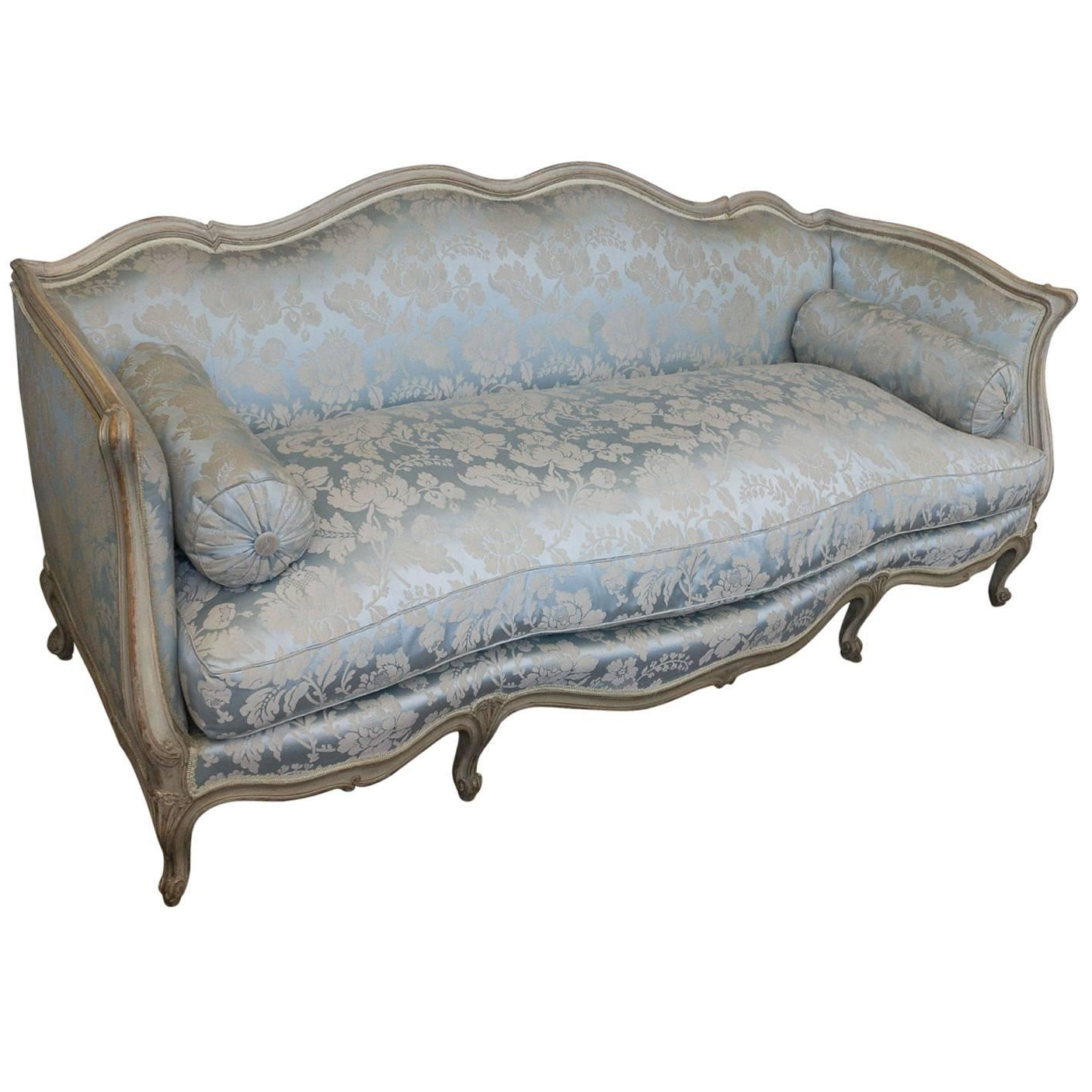 Most Recently Released French Louis Xv Style Sofa Attributed To Maison Jansen For Sale At With French Style Sofas (View 15 of 15)