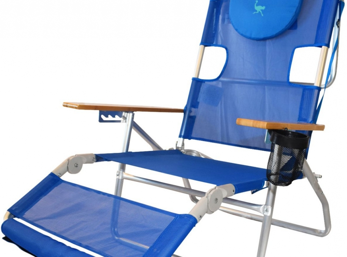 Most Recently Released Furniture: Chair : Stunning Ostrich 3 N 1 Beach Chair 58 For Beach Intended For Lounge Chaise Chair By Ostrich (View 12 of 15)