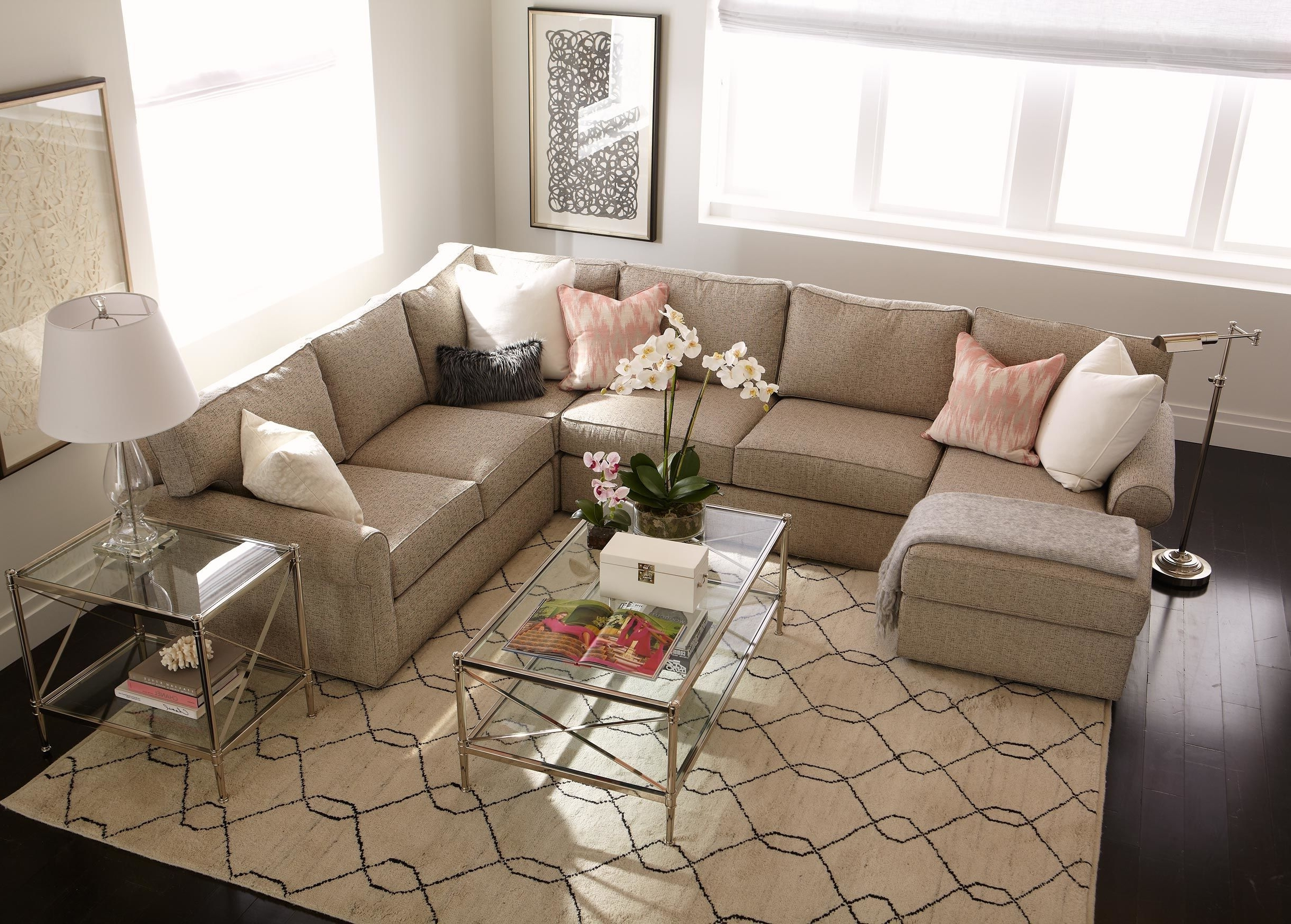 Most Recently Released Goose Down Sectional Sofas With Regard To Sofa : Down Filled Sofa Sectional White Down Filled Sofa (View 12 of 15)