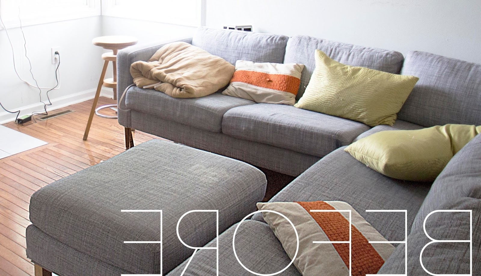 Most Recently Released Grosgrain: Finally Affordable Ikea Sofa Slipcovers Within Karlstad Chaise Covers (View 4 of 15)