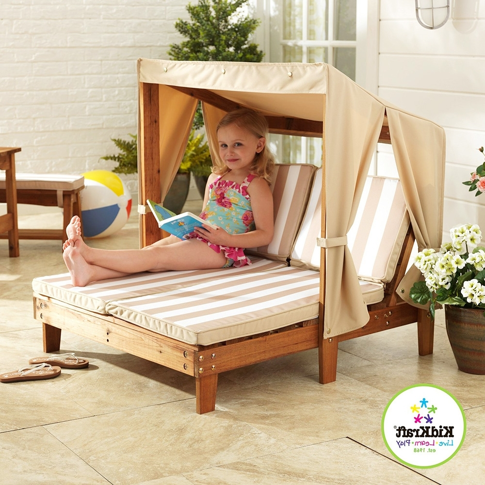 Most Recently Released Kidkraft Double Chaise Lounges Inside Kids Double Loungekidkraft – Adorable Home (View 13 of 15)