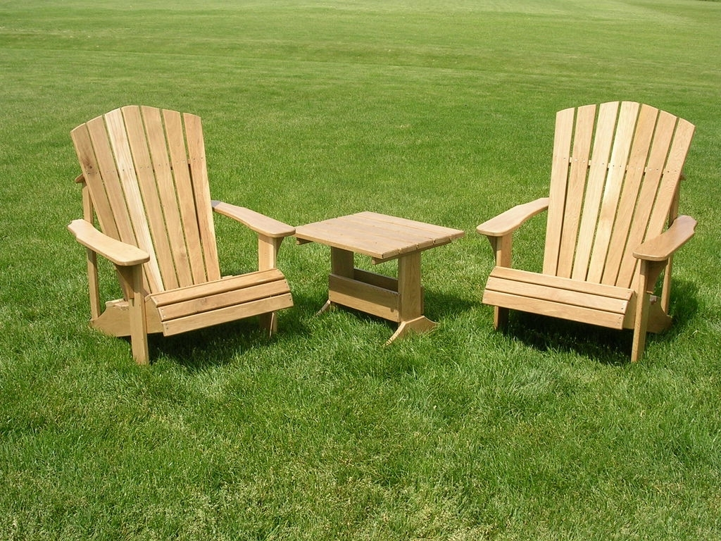 Most Recently Released Lawn Chaises With Regard To Wooden Lawn Chairs (View 9 of 15)