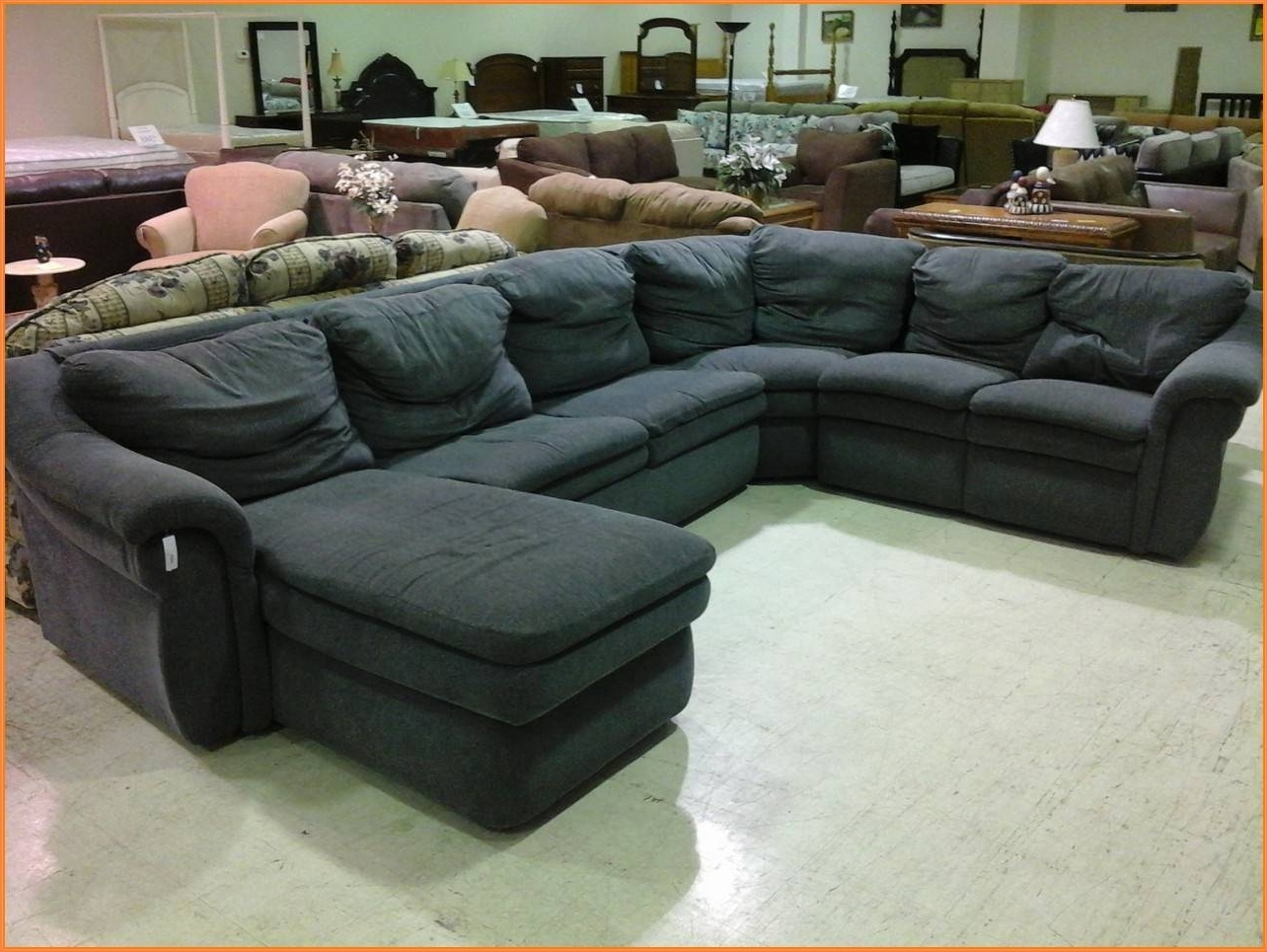 Most Recently Released Lazy Boy Sectional Sofas Intended For Charming Lazy Boy Sectional Sleeper Sofa 96 For Malibu Sectional (View 10 of 15)