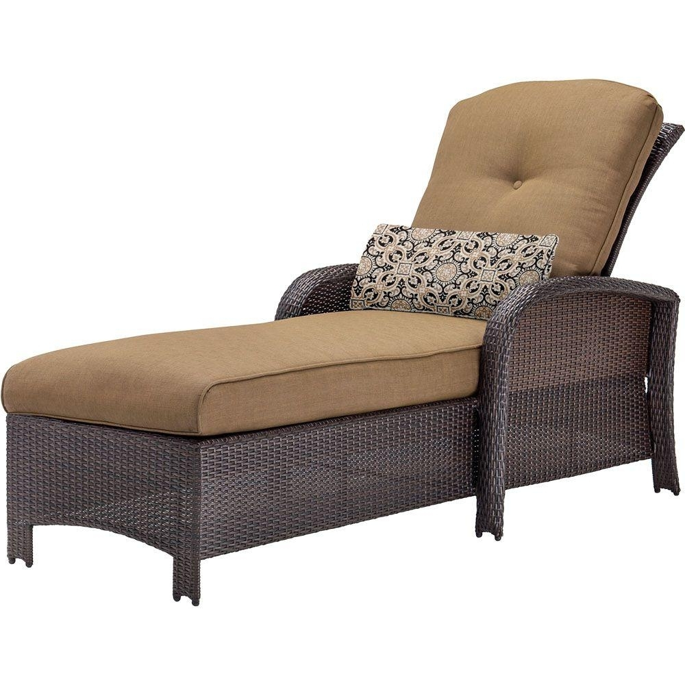 Most Recently Released Martha Stewart Chaise Lounges In Hampton Bay Solana Bay Patio Chaise Lounge As Acl 1148 – The Home (View 11 of 15)