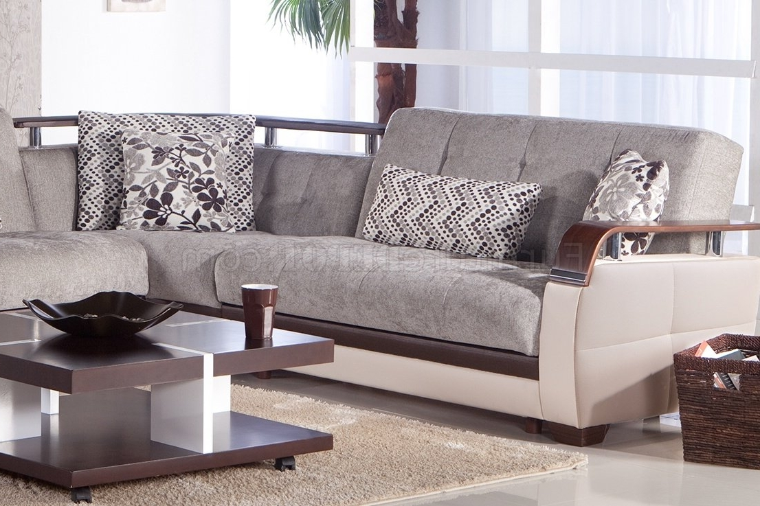 Most Recently Released Microfiber Sectional Sofas With Regard To Fabric Sectionals – Microfiber Sectional Sofas, Microsuede (View 8 of 15)