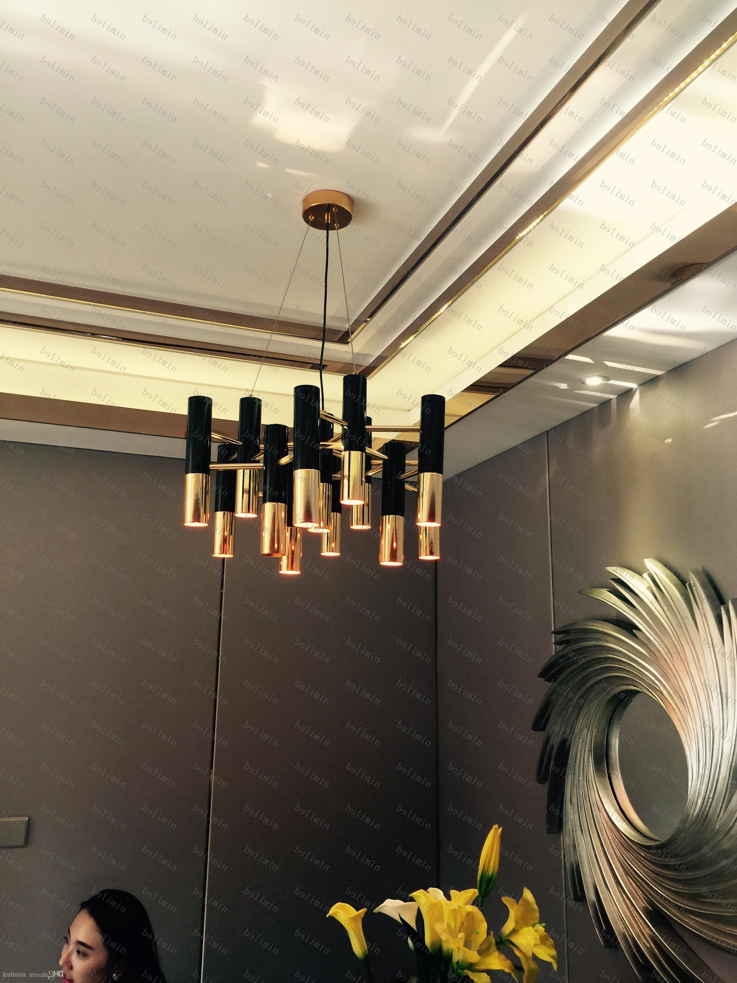 Most Recently Released Nimi774 Modern Design Delightfull Ike Chandelier Pendant Lamp Pertaining To Chandelier Lights For Living Room (View 11 of 15)