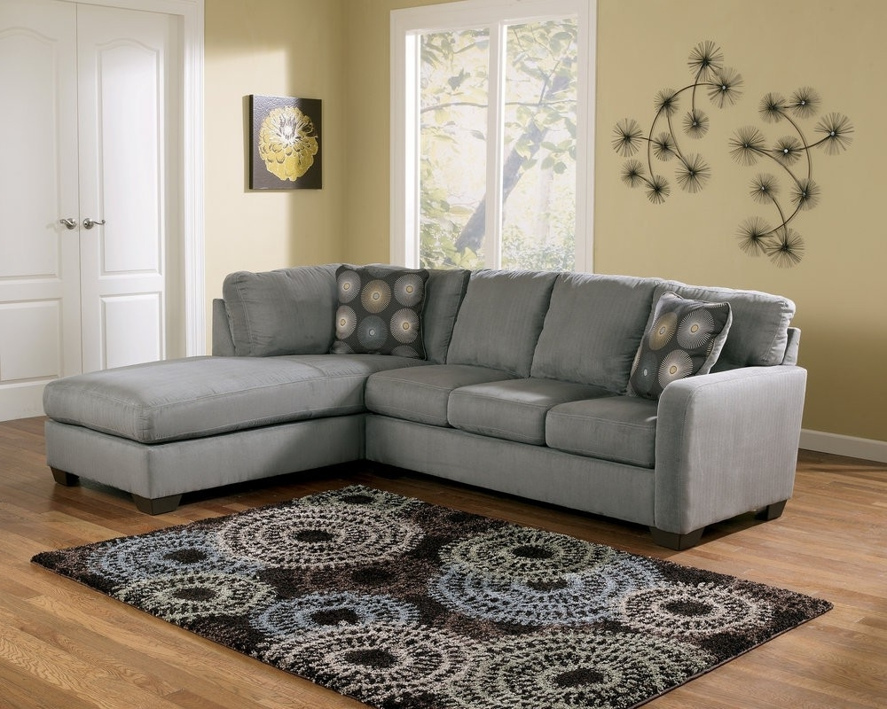 Most Recently Released Raf Chaises Within Buy Zella Charcoal Sectional Laf Sofa With Raf Chaisesignature (View 9 of 15)