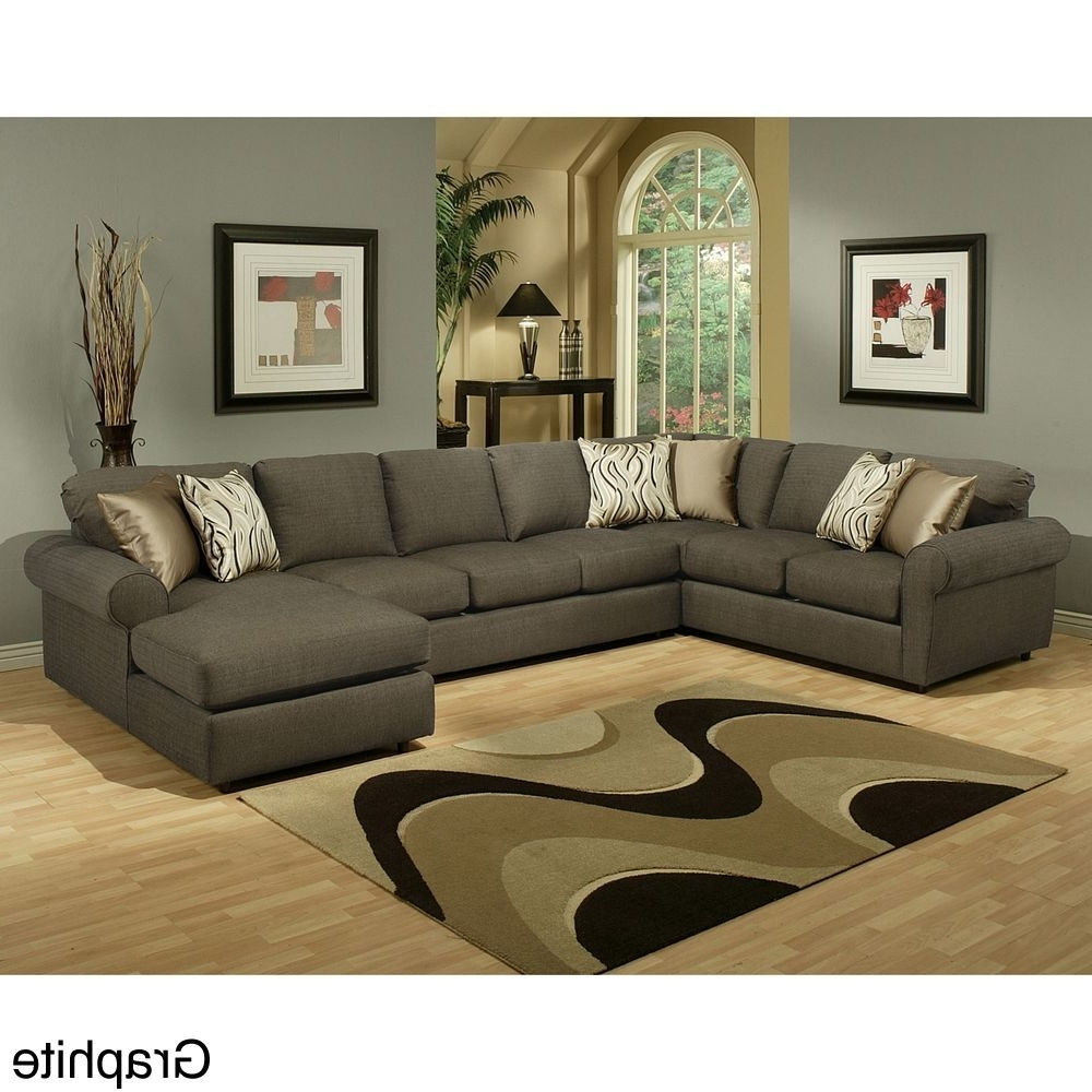 Most Recently Released Roxanne Fabric 6 Piece Modular Sectional Sofa With Ottoman In Eco Friendly Sectional Sofas (View 13 of 15)
