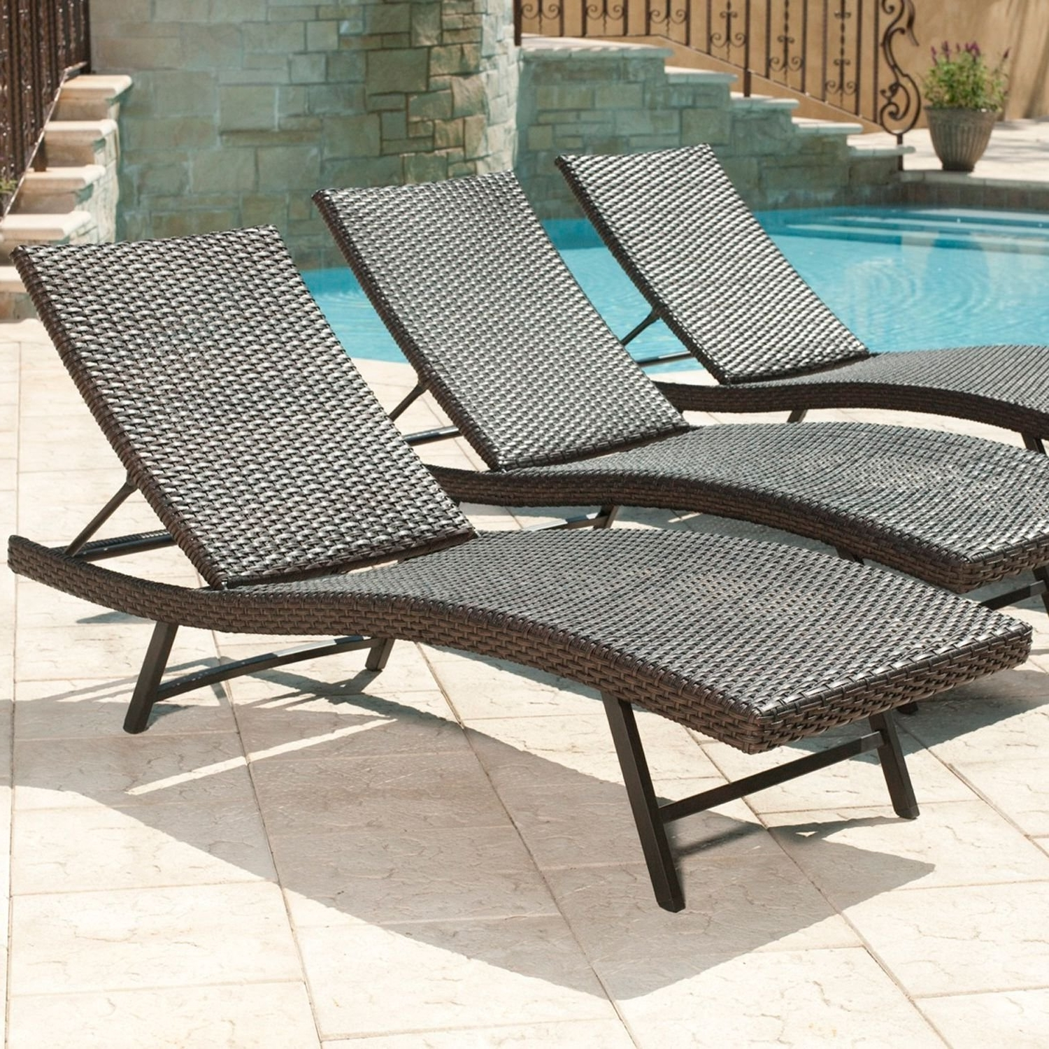 Most Recently Released Sam's Club Outdoor Chaise Lounge Chairs Intended For Amazon: Member's Mark« Heritage Chaise Lounge Chair: Garden (View 4 of 15)