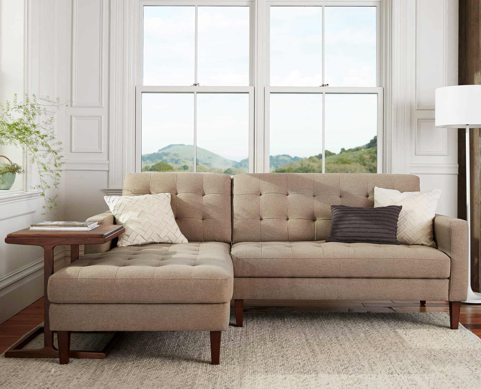 Most Recently Released Scandinavian Designs – Create A Relaxing Aesthetic With The In Dania Sectional Sofas (View 10 of 15)