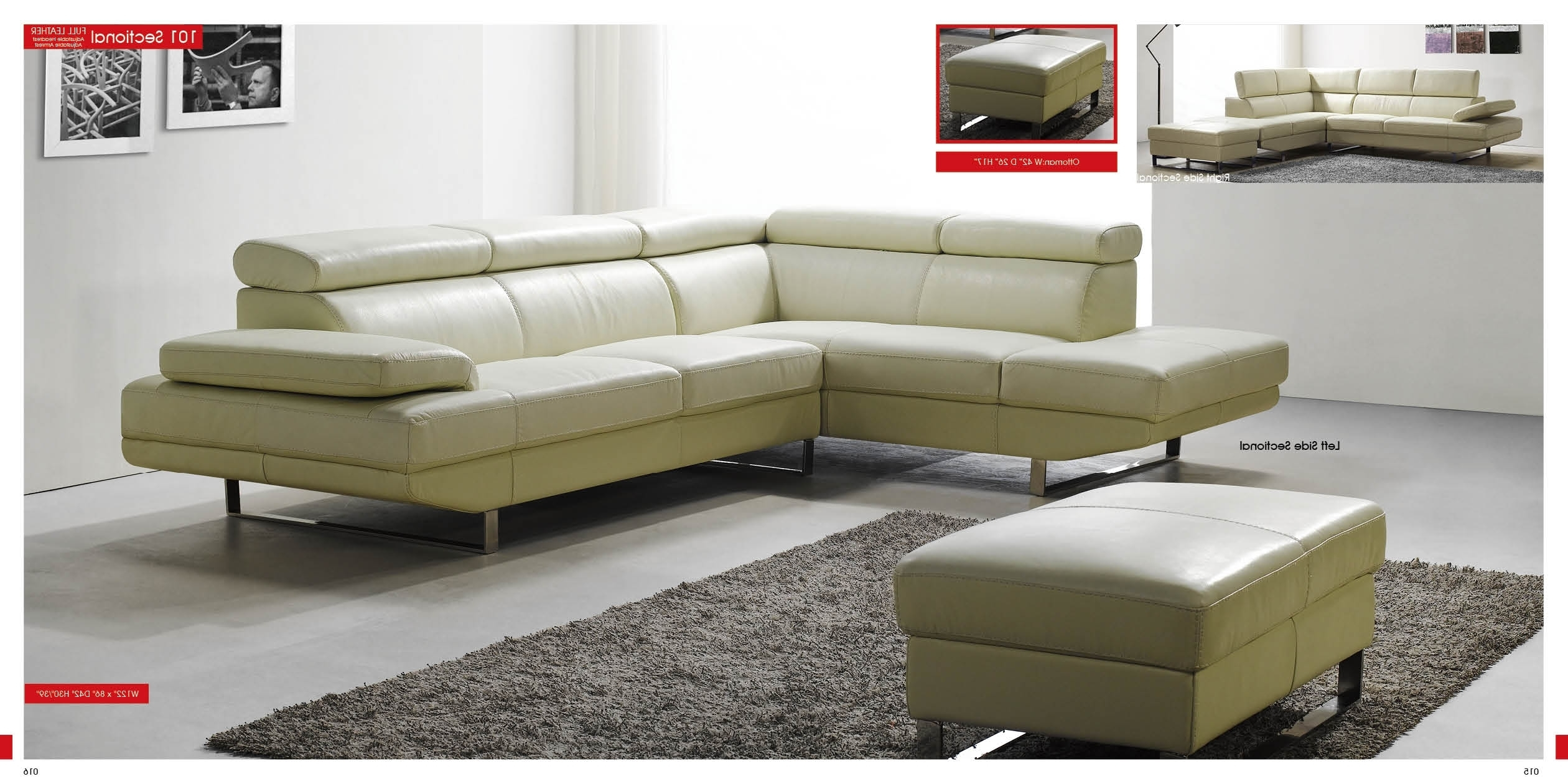Most Recently Released Sleek Sectional Sofas Throughout Collection Sleek Sectional Sofa – Mediasupload (View 7 of 15)