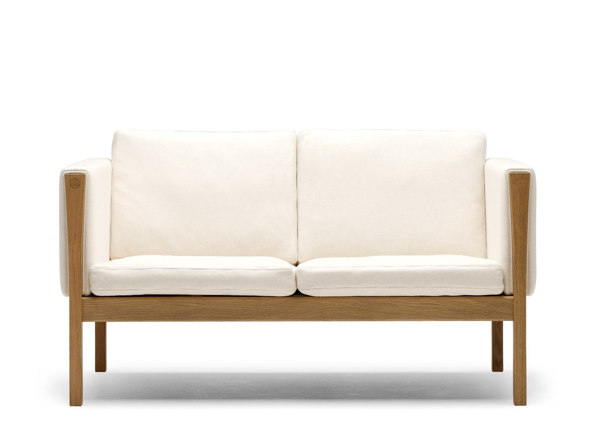 Most Recently Released Small 2 Seater Sofas Inside Buy The Carl Hansen & Son Carl Hansen Ch162 Two Seater Sofa At (View 4 of 15)