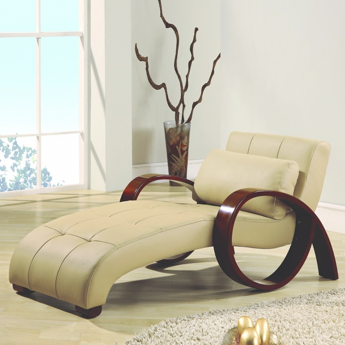 Most Recently Released Unique Indoor Chaise Lounge Chairs Pertaining To Contemporary Chaise Lounge Chairs Indoor Unique Wood Arms Solid (View 15 of 15)