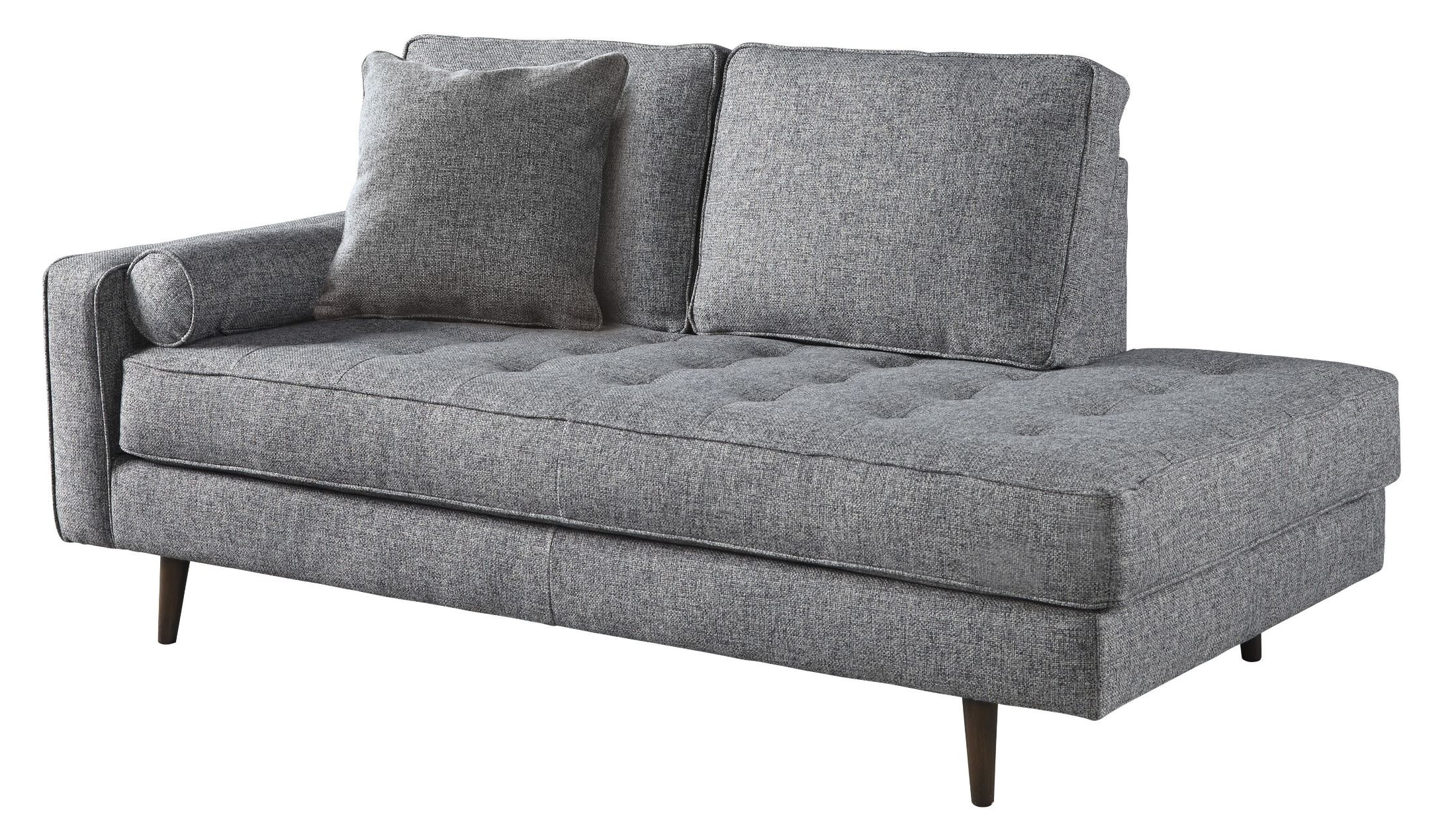 Most Recently Released Zardoni Charcoal Raf Corner Chaise From Ashley (View 14 of 15)