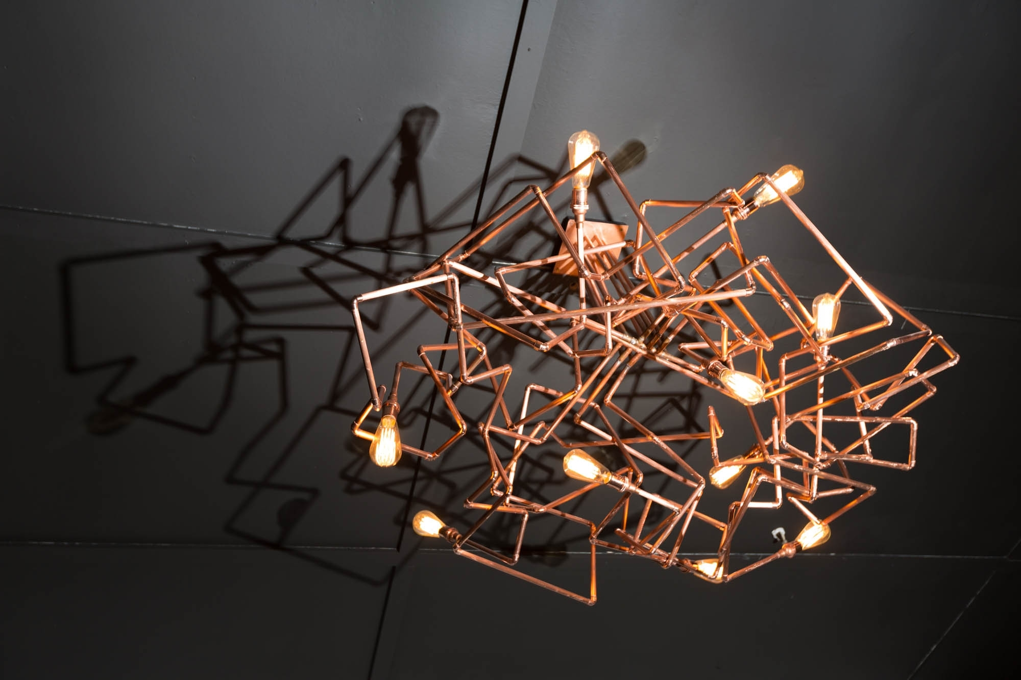 Most Up To Date Chandeliers Design : Marvelous Copper Chandelier Luxury About Regarding Copper Chandelier (View 9 of 15)