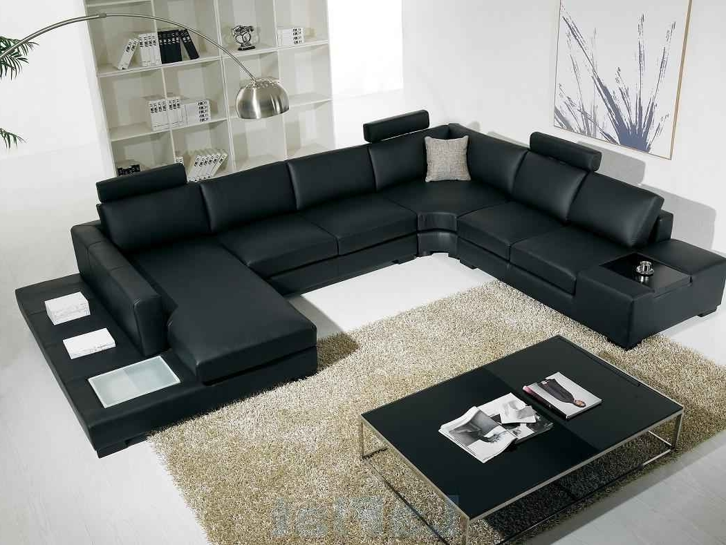 Most Up To Date Cheap Sectional Sofas With Huge Sectional Sofa With Leather In Affordable Sectional Sofas (View 13 of 15)
