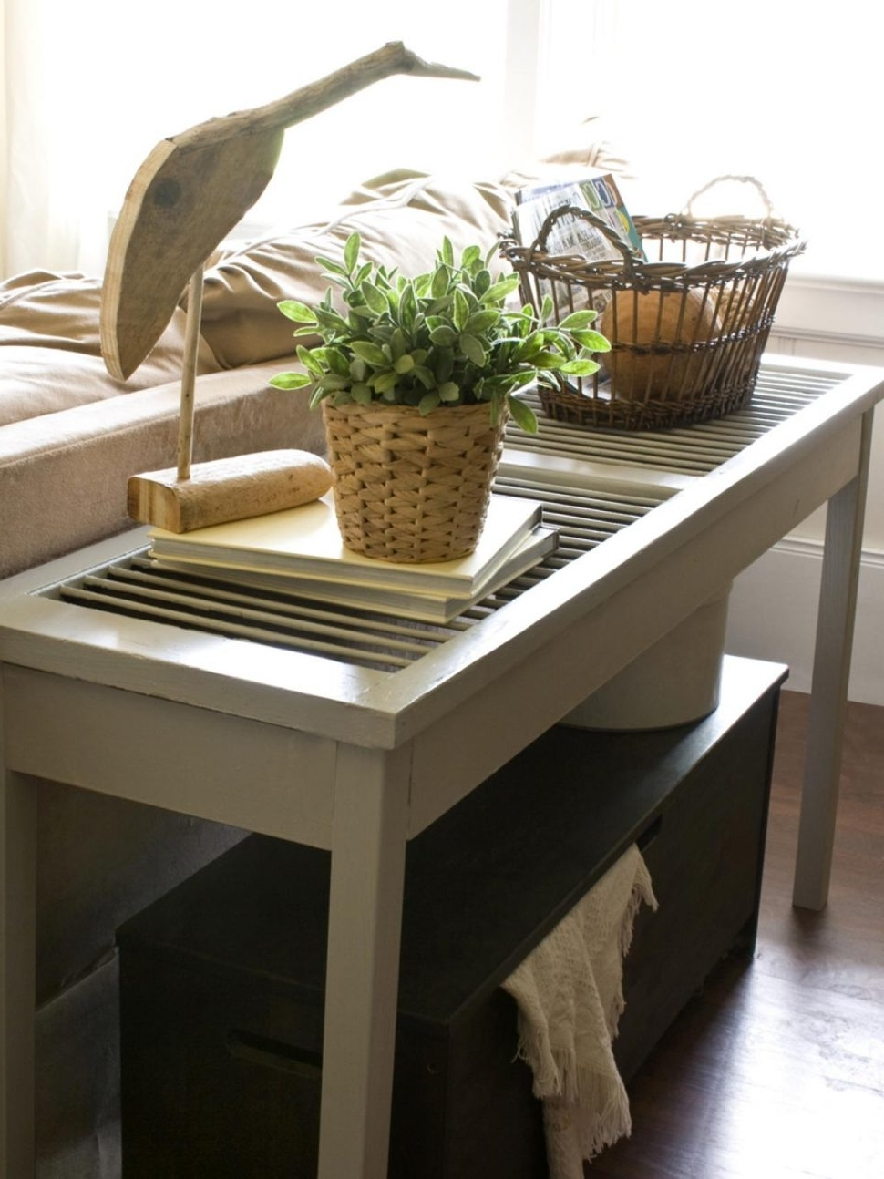 Most Up To Date Console Table : Console Sofa Tables Build Shutter Table Tall Hall With Regard To Sofas With Back Consoles (View 9 of 15)