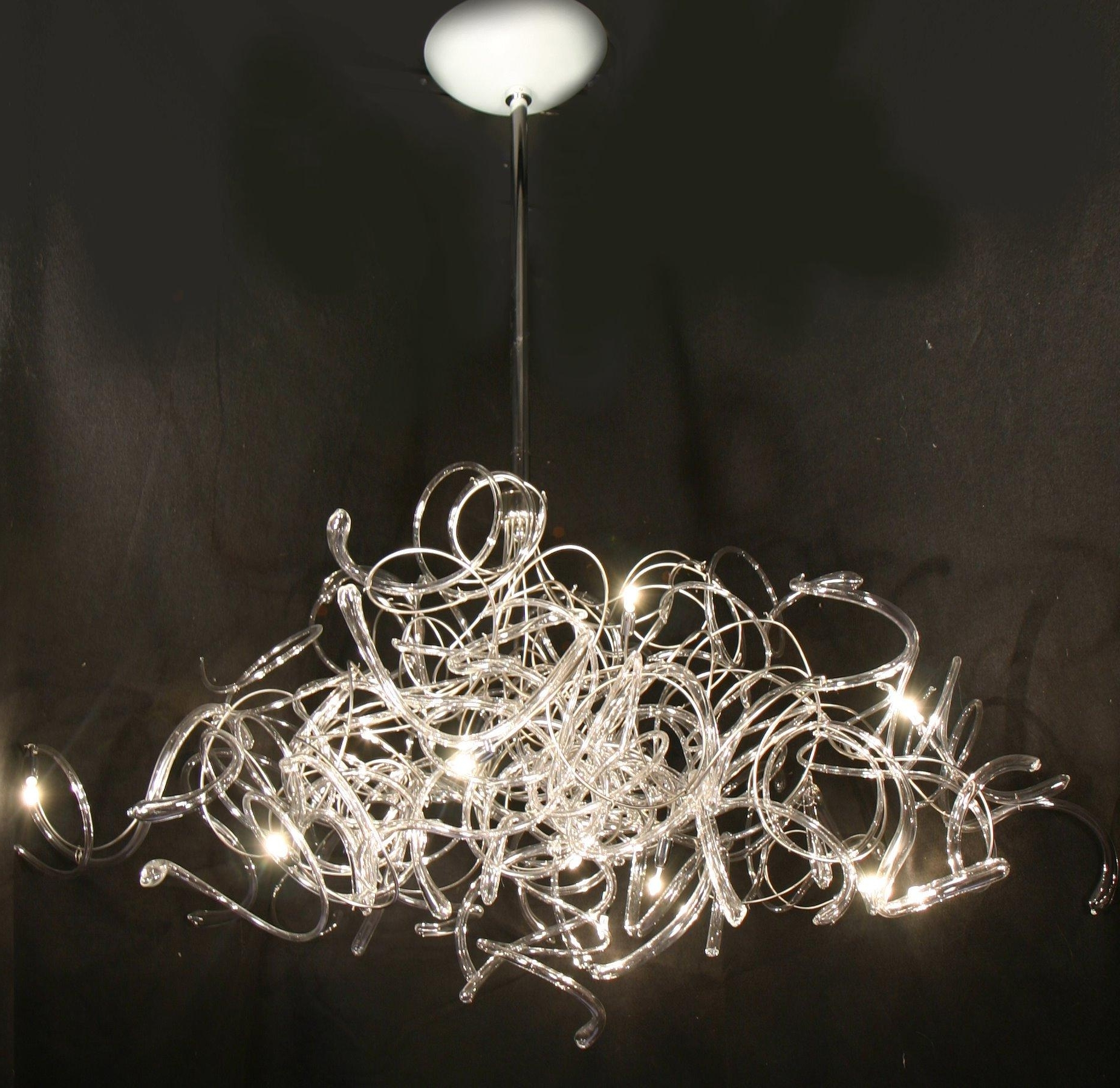 Most Up To Date Contemporary Chandelier Within Chandeliers : Contemporary Chandelier Lighting Luxury Contemporary (View 10 of 15)