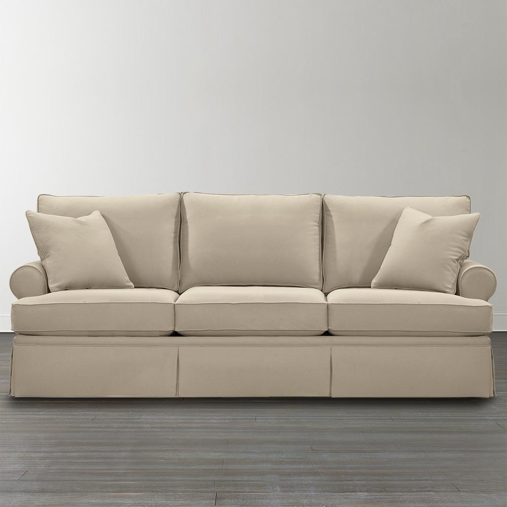 Most Up To Date Custom Upholstered Sofa Beige Intended For Customized Sofas (View 11 of 15)