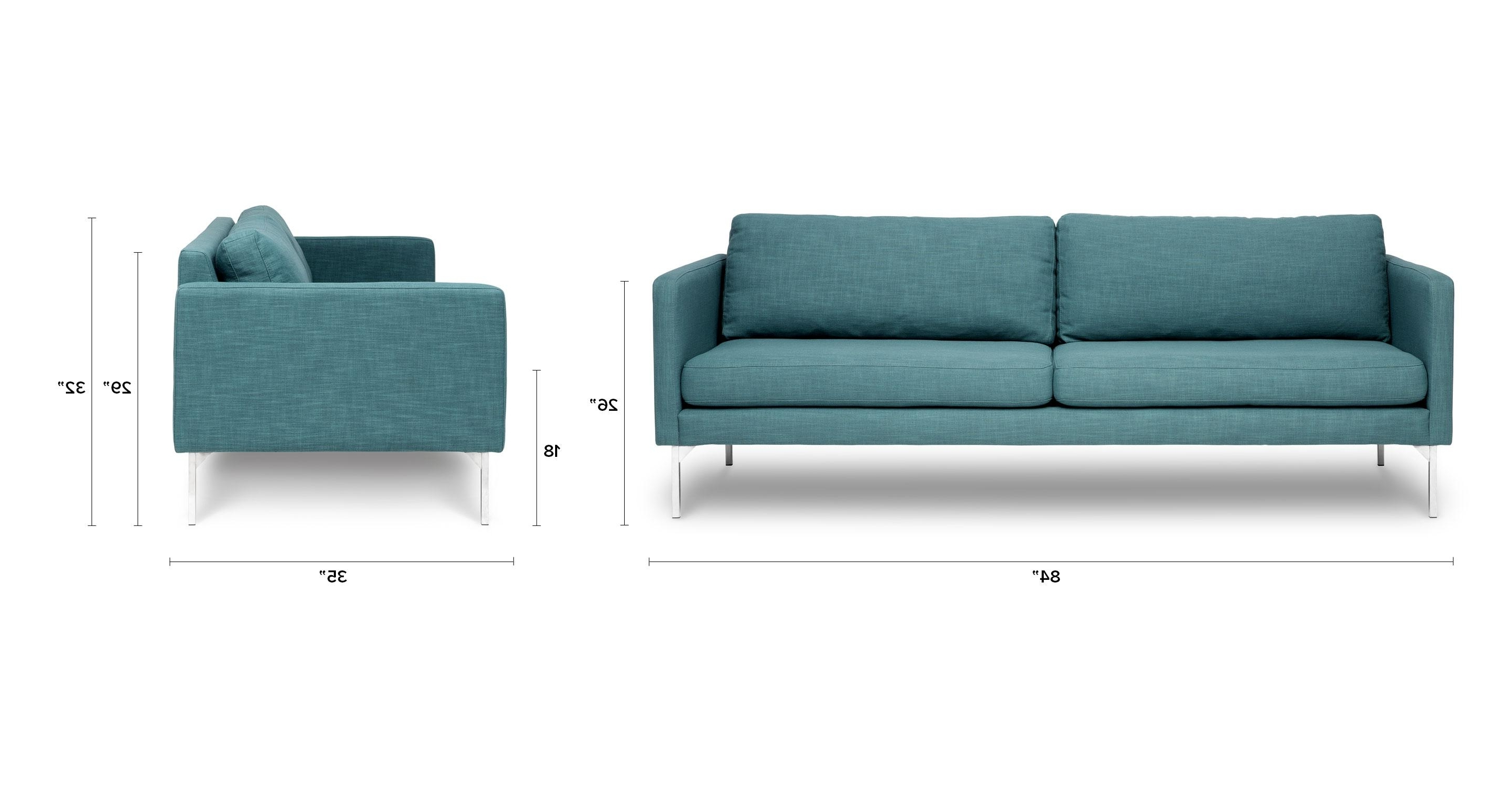 Most Up To Date Furniture : Grey Loveseat Cover Elegant Echo Ice Aqua Sofa Sofas Inside Aqua Sofas (View 13 of 15)