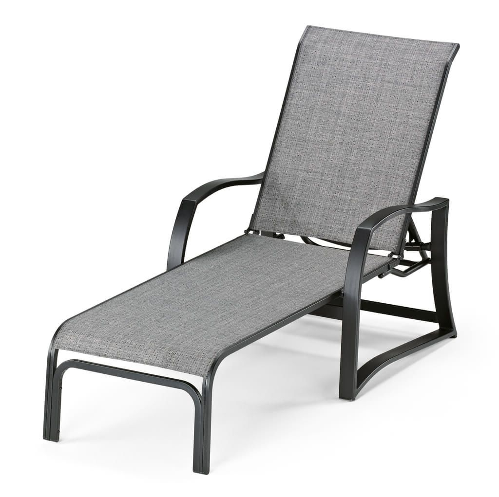 Most Up To Date Furniture: Metal Outdoor Chaise Lounge With Grey Cover – Tips Of Inside Outdoor Metal Chaise Lounge Chairs (View 5 of 15)
