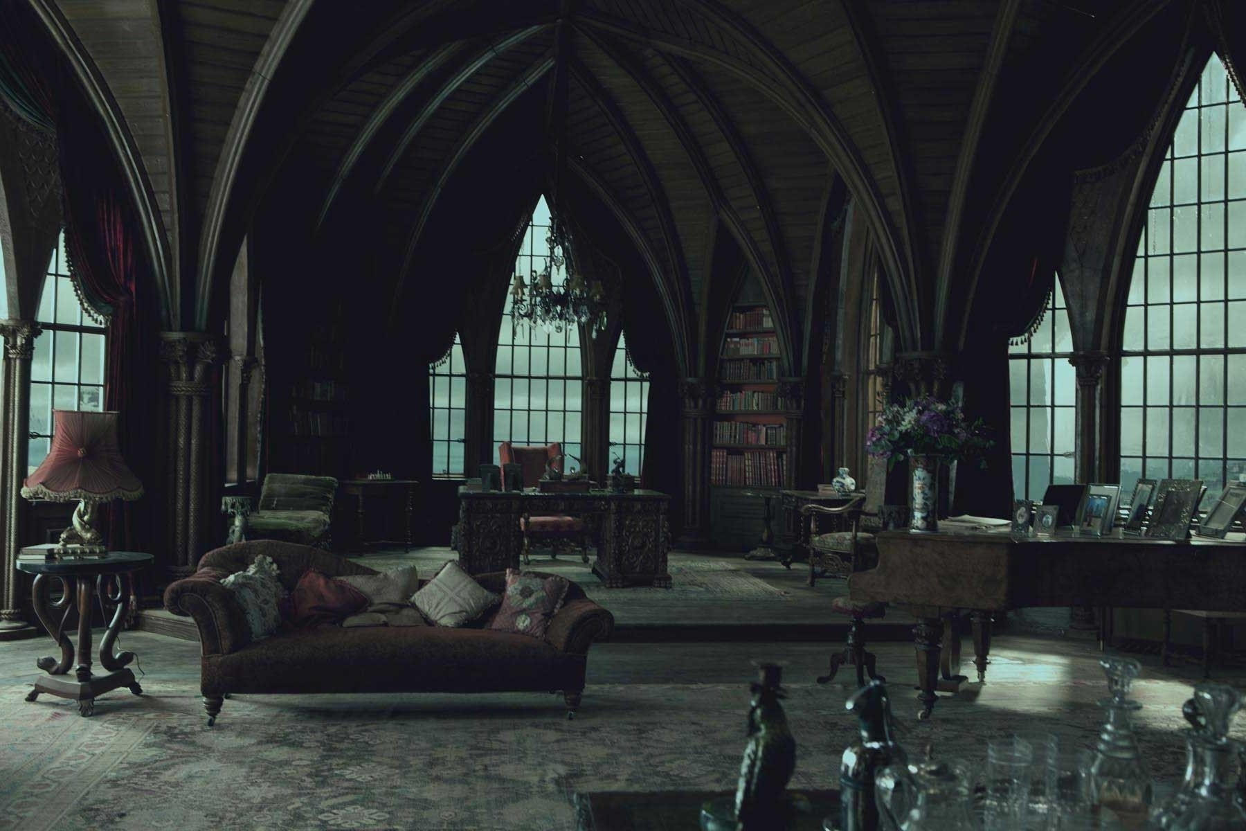 Most Up To Date Gothic Sofas Inside Gothic Style Modern Designer Furniture And Sofas Modern Gothic (View 14 of 15)