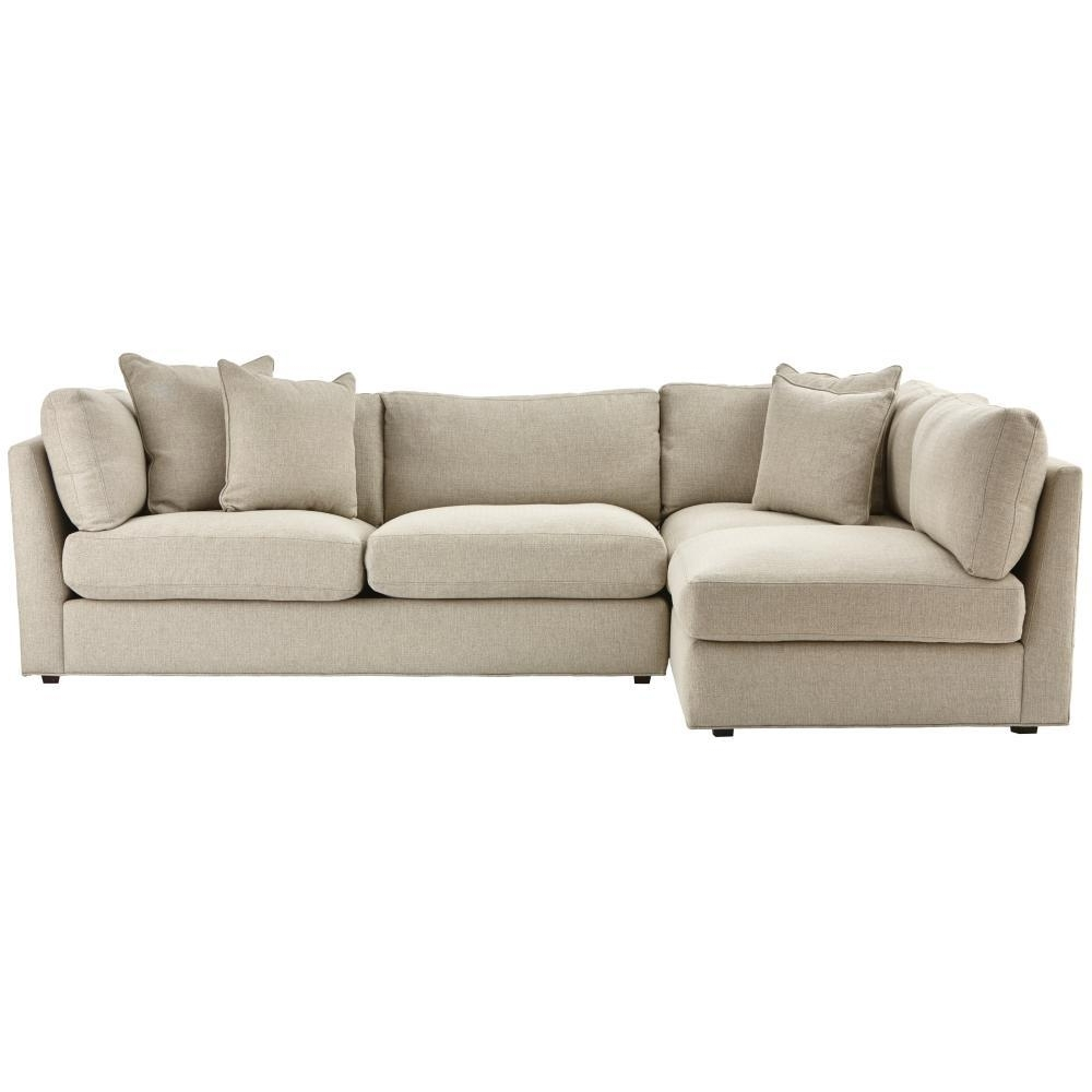 Most Up To Date Home Decorators Collection Griffith Sugar Shack Putty Sectional Within Home Depot Sectional Sofas (View 14 of 15)