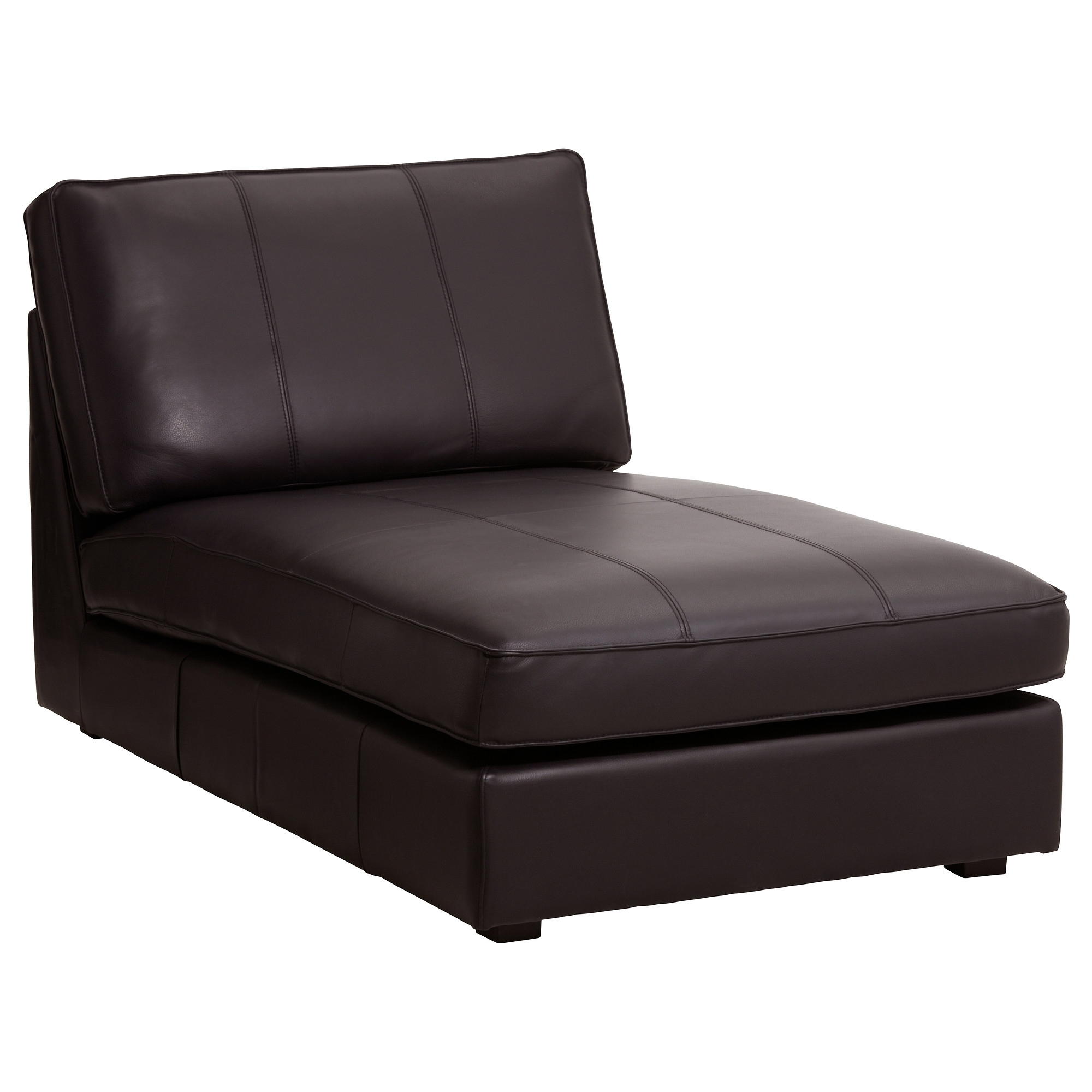 Most Up To Date Ikea Chaise Sofas For Kivik Chaise – Grann/bomstad Dark Brown – Ikea (View 8 of 15)