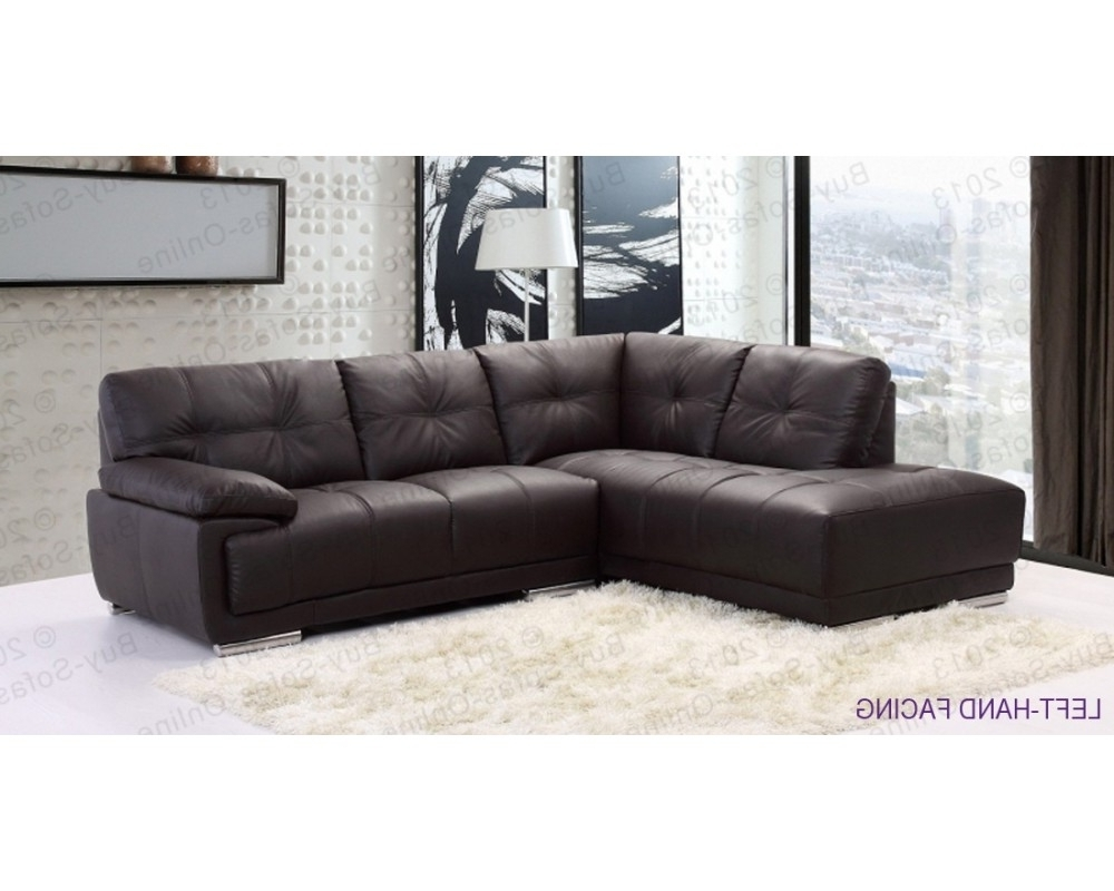 Most Up To Date Leather Corner Sofas For Incredible Modern Leather Corner Sofas – Buildsimplehome (View 6 of 15)